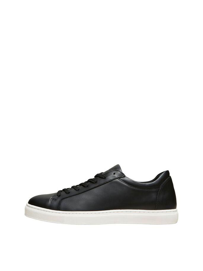 Selected 16078938 sneakers, black, 42