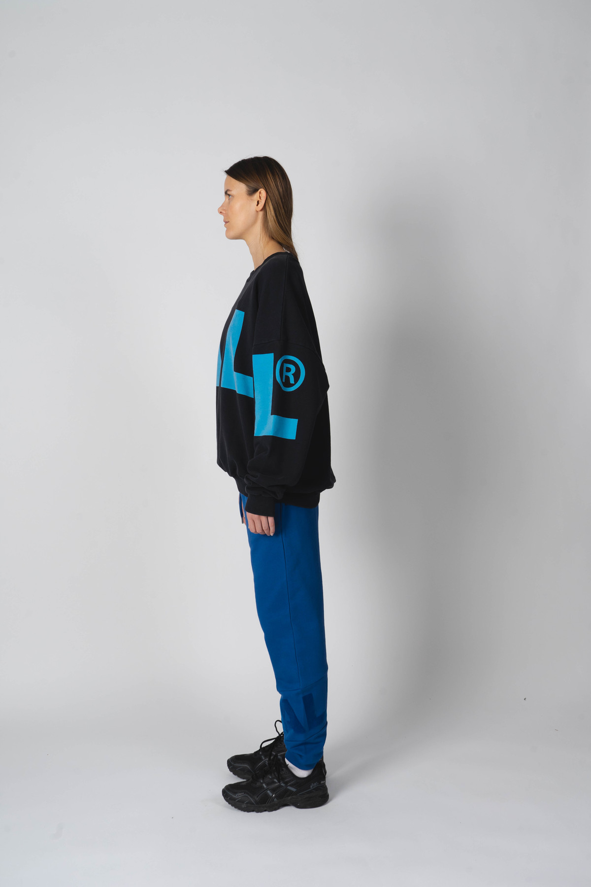 BALL Wham OG Crew Neck sweatshirt, sort, XS