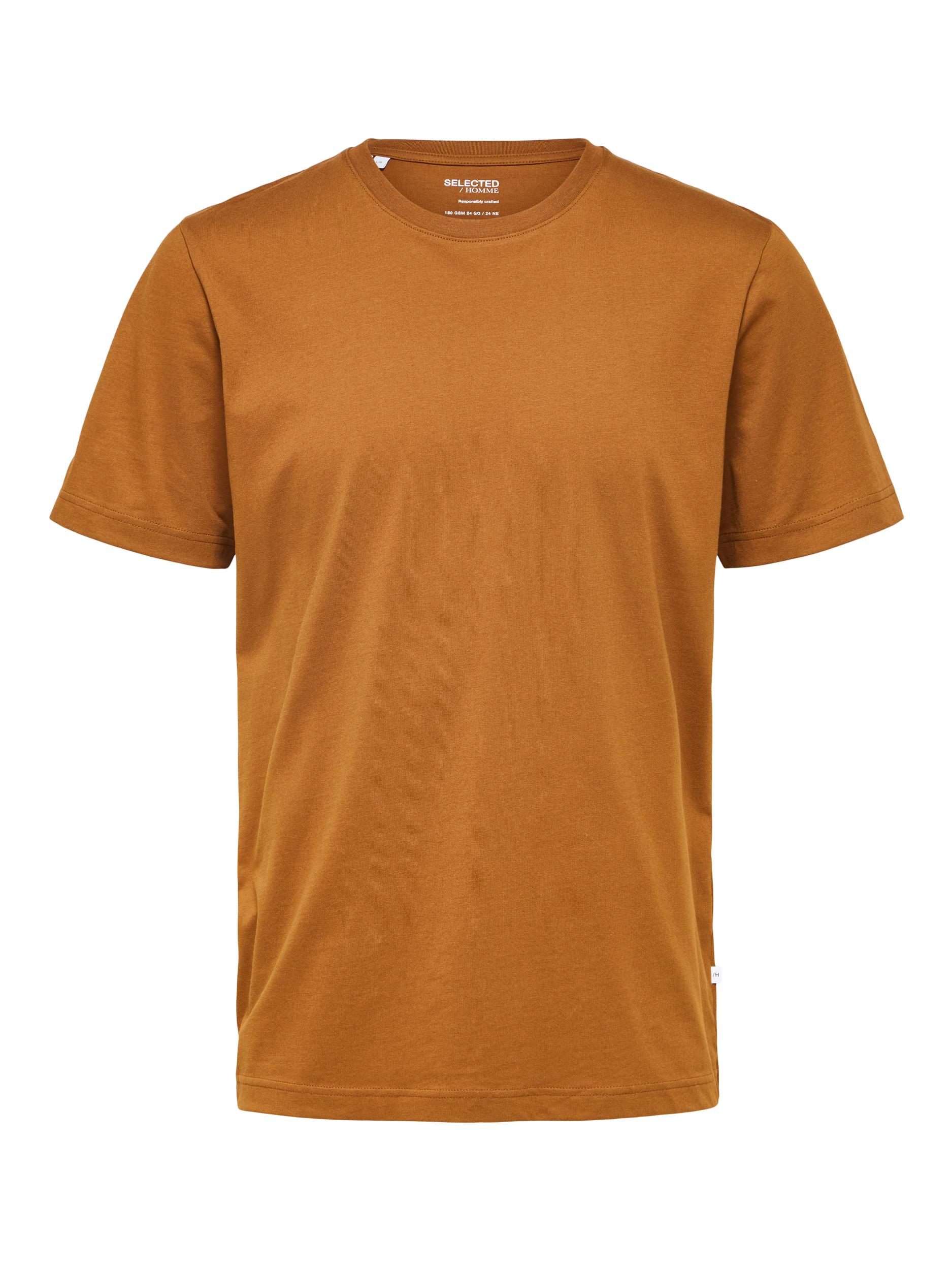 Selected Homme Norman O-Neck t-shirt, monks robe, medium