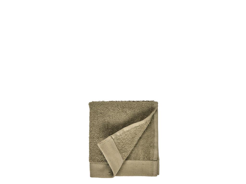 Södahl Comfort Organic vaskeklud, 30x30 cm, khaki