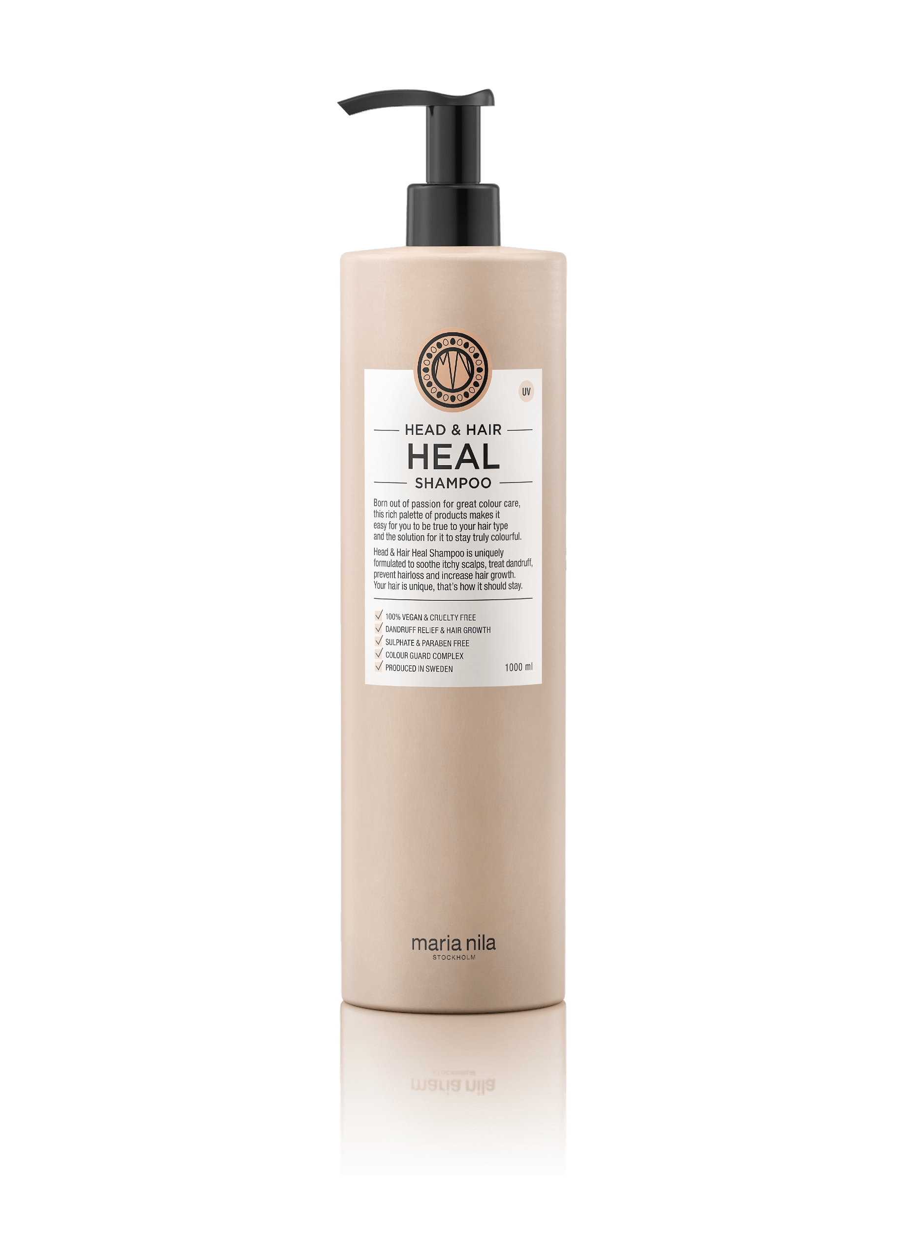 Maria Nila Head & Hair Heal Shampoo, 1000 ml