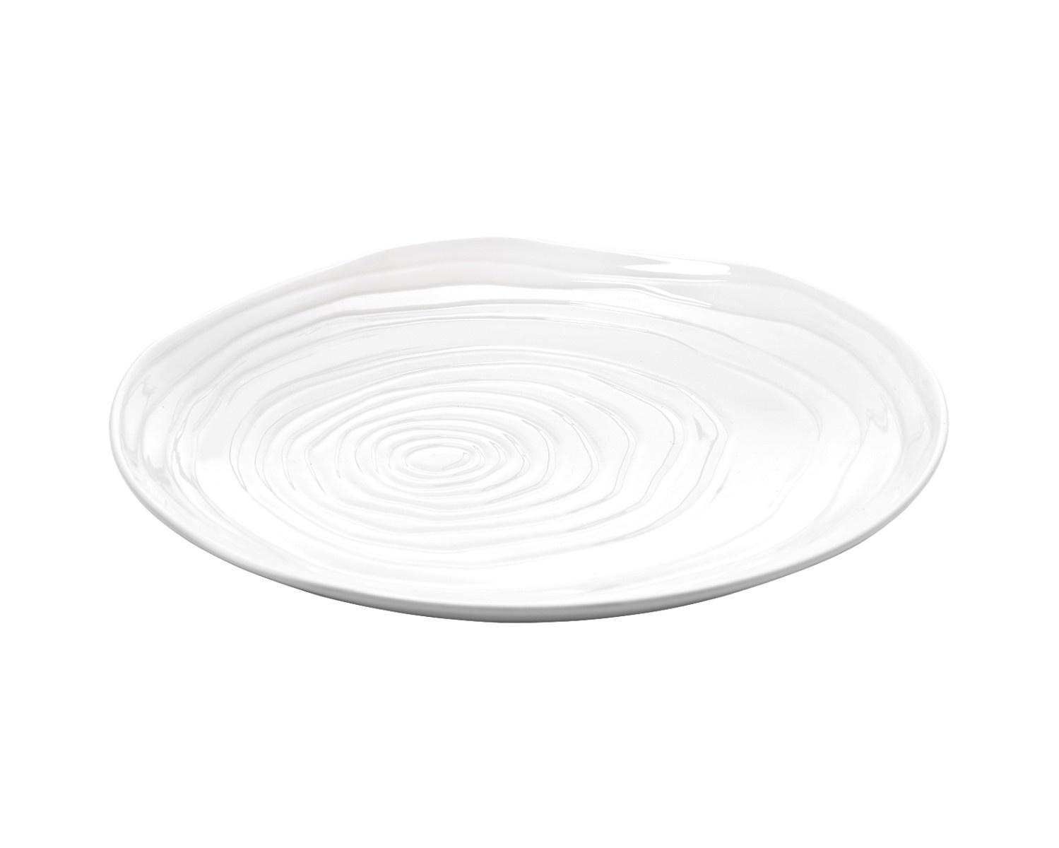 Pillivuyt Boulogne frokosttallerken, Ø21 cm, hvid