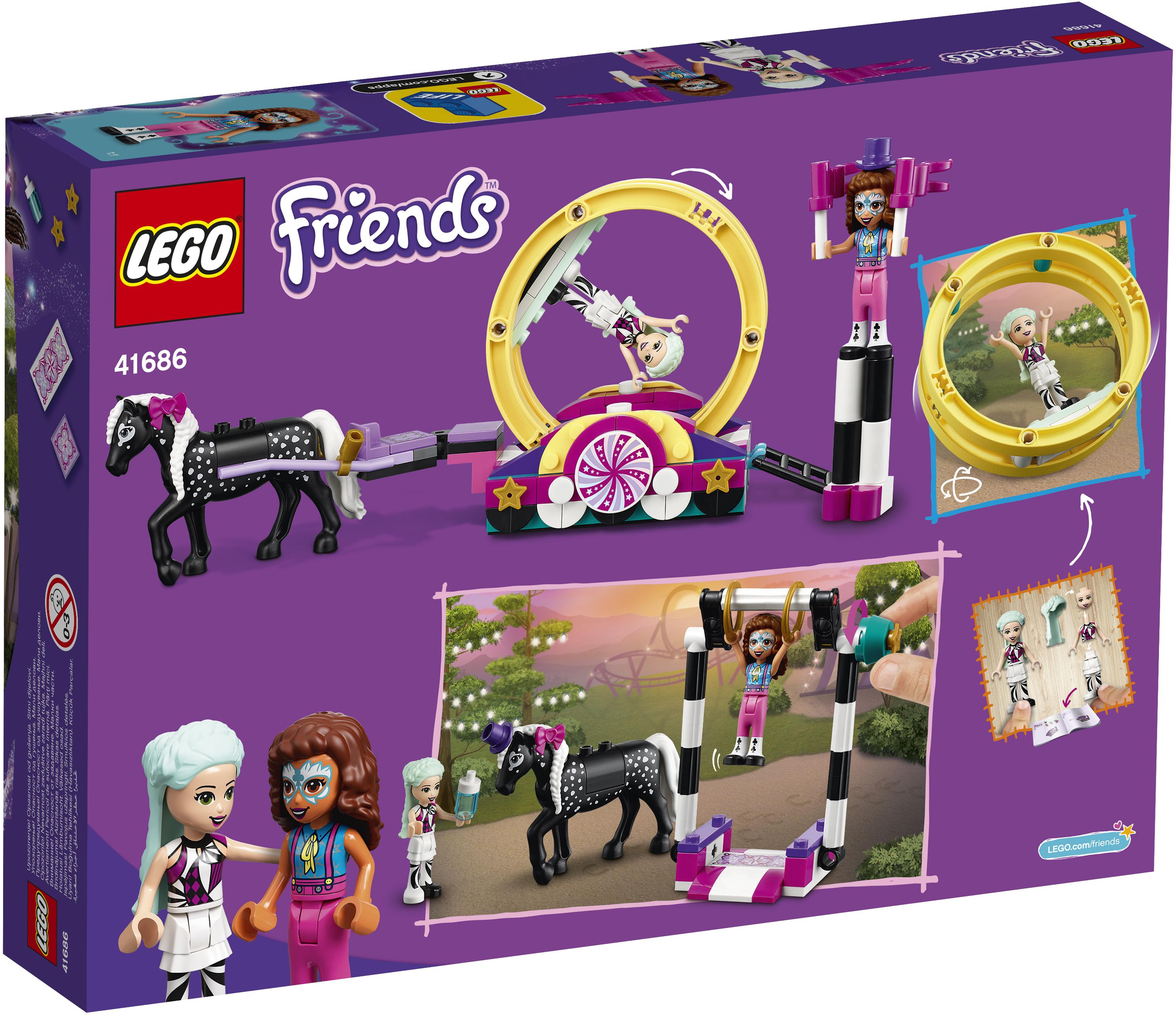 LEGO Friends Magisk akrobatik - 41686