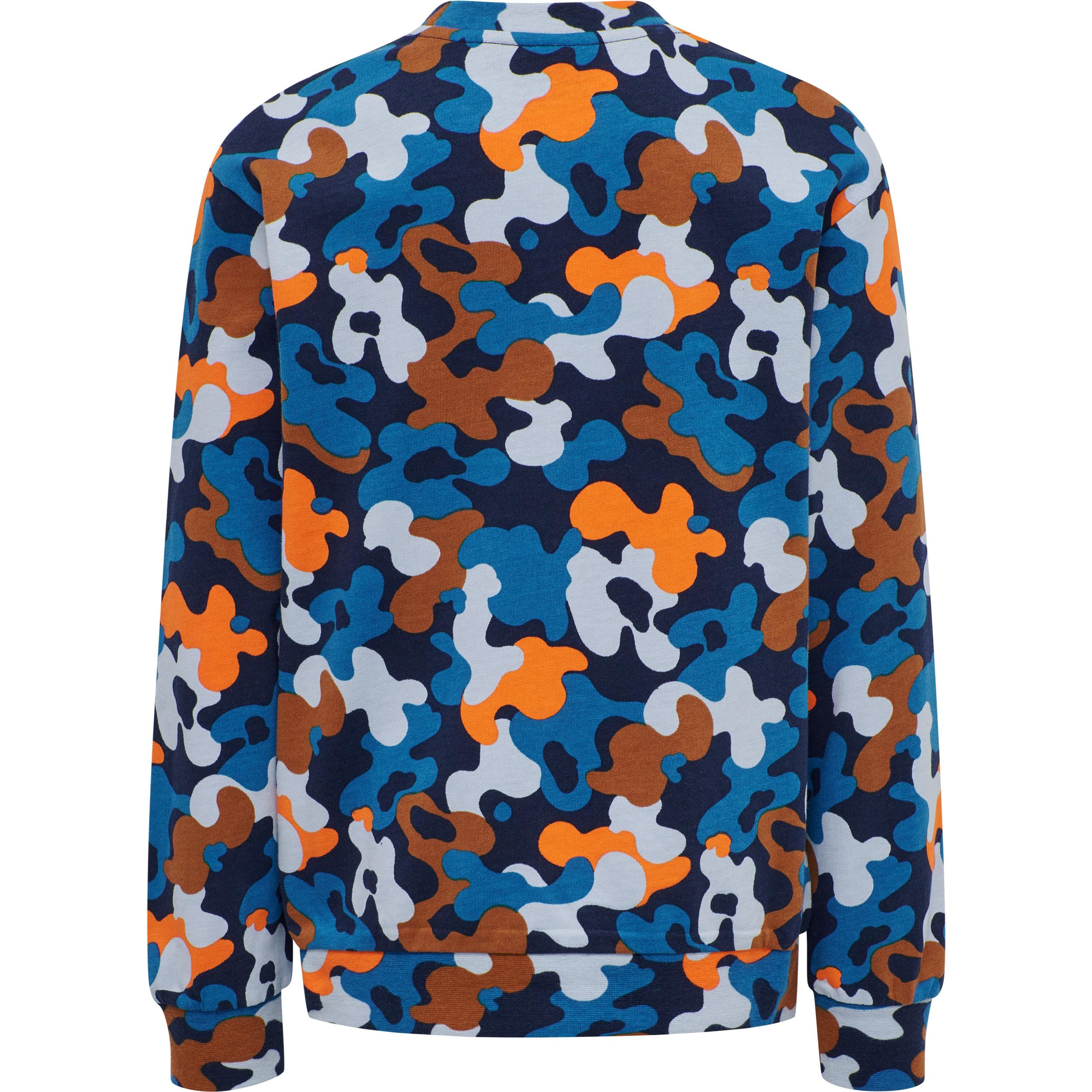 Hummel Hmlace sweatshirt, black iris, 140
