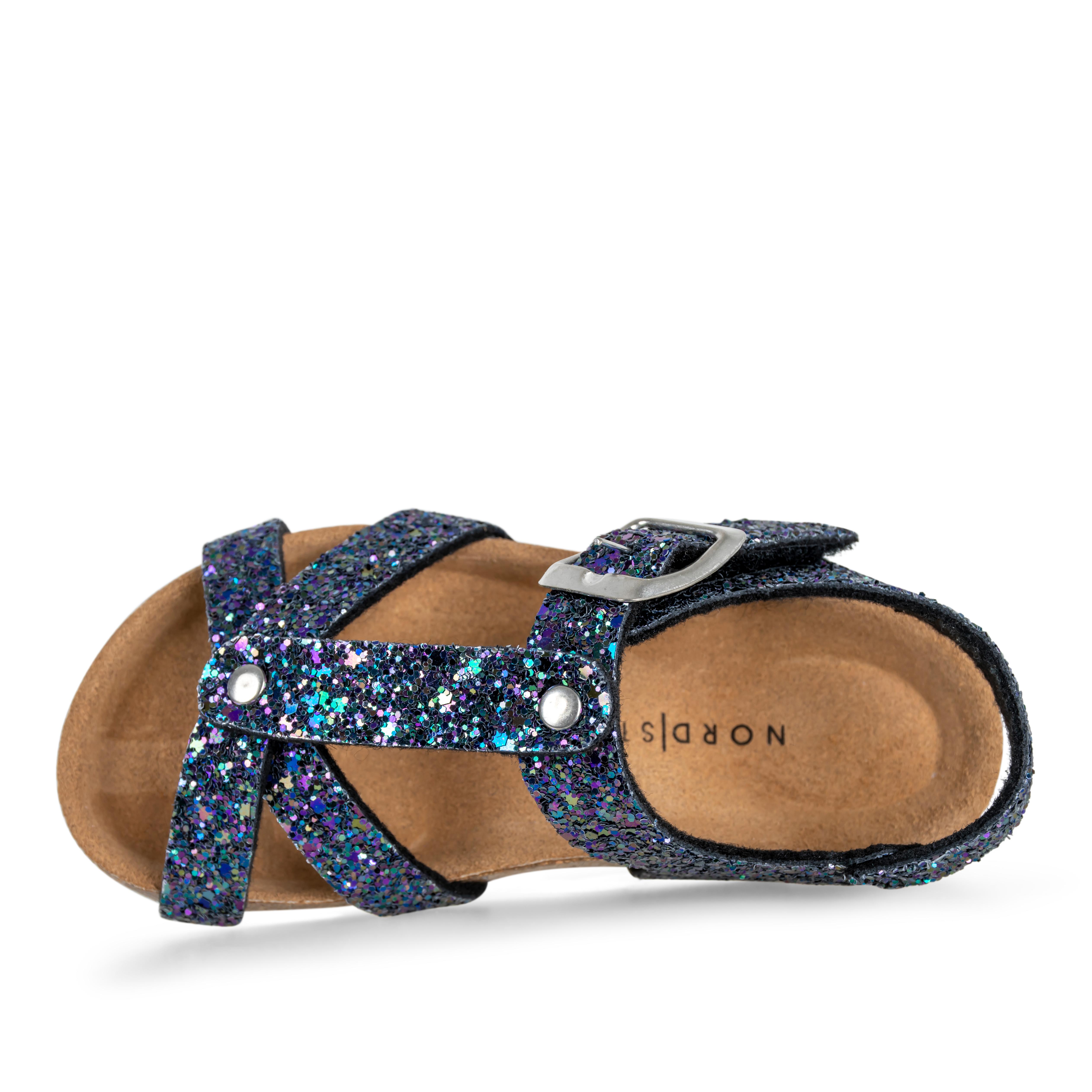Nordstrand 11229 sandal, black glitter, 28