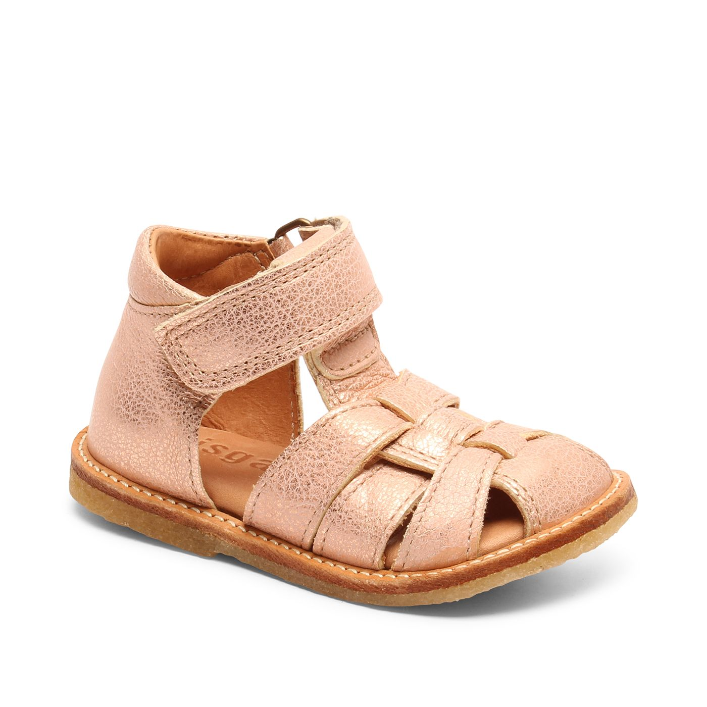 Bisgaard sandal, rose gold