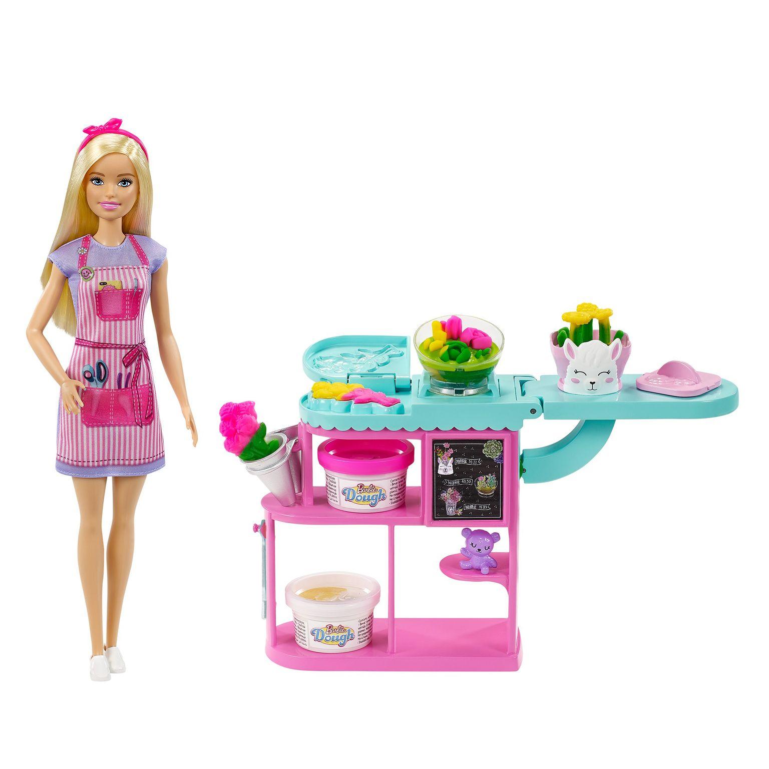 Barbie blomsterhandler