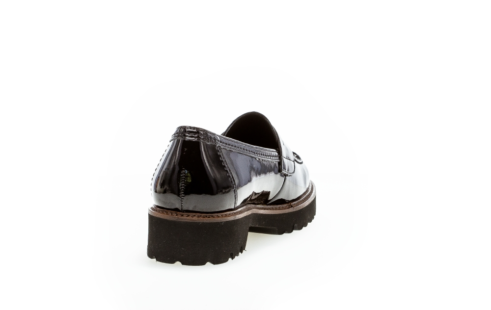 Gabor 75.203.77 loafers, black, 38.5