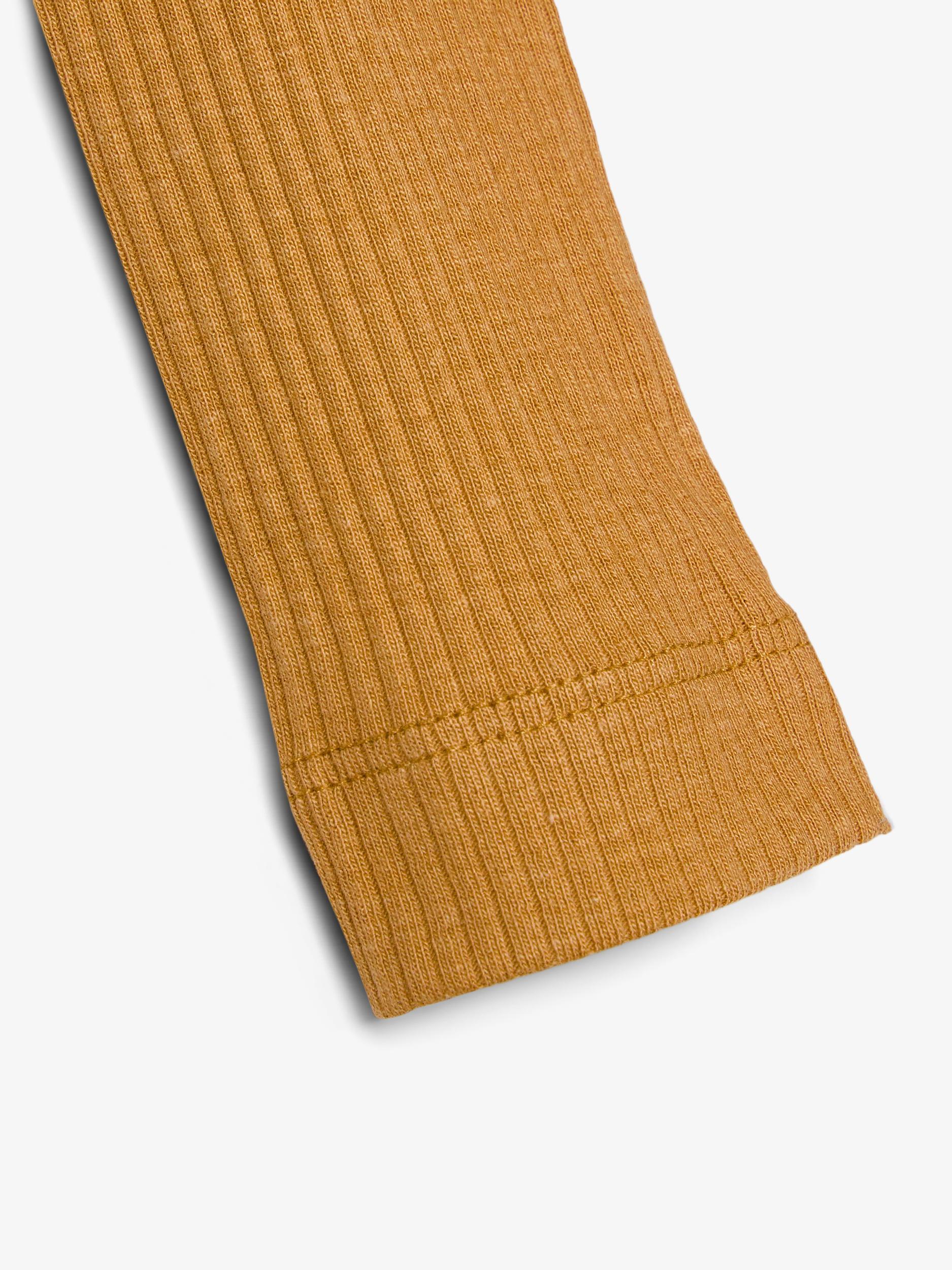 Name It Kabex rib leggings, spruce yellow, 74