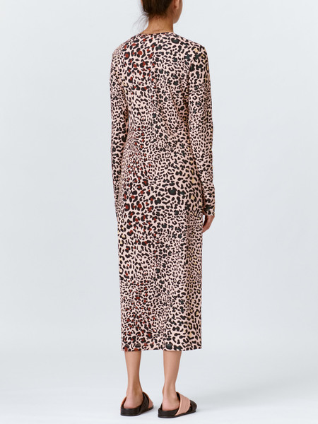Munthe Patos kjole, skin, 34