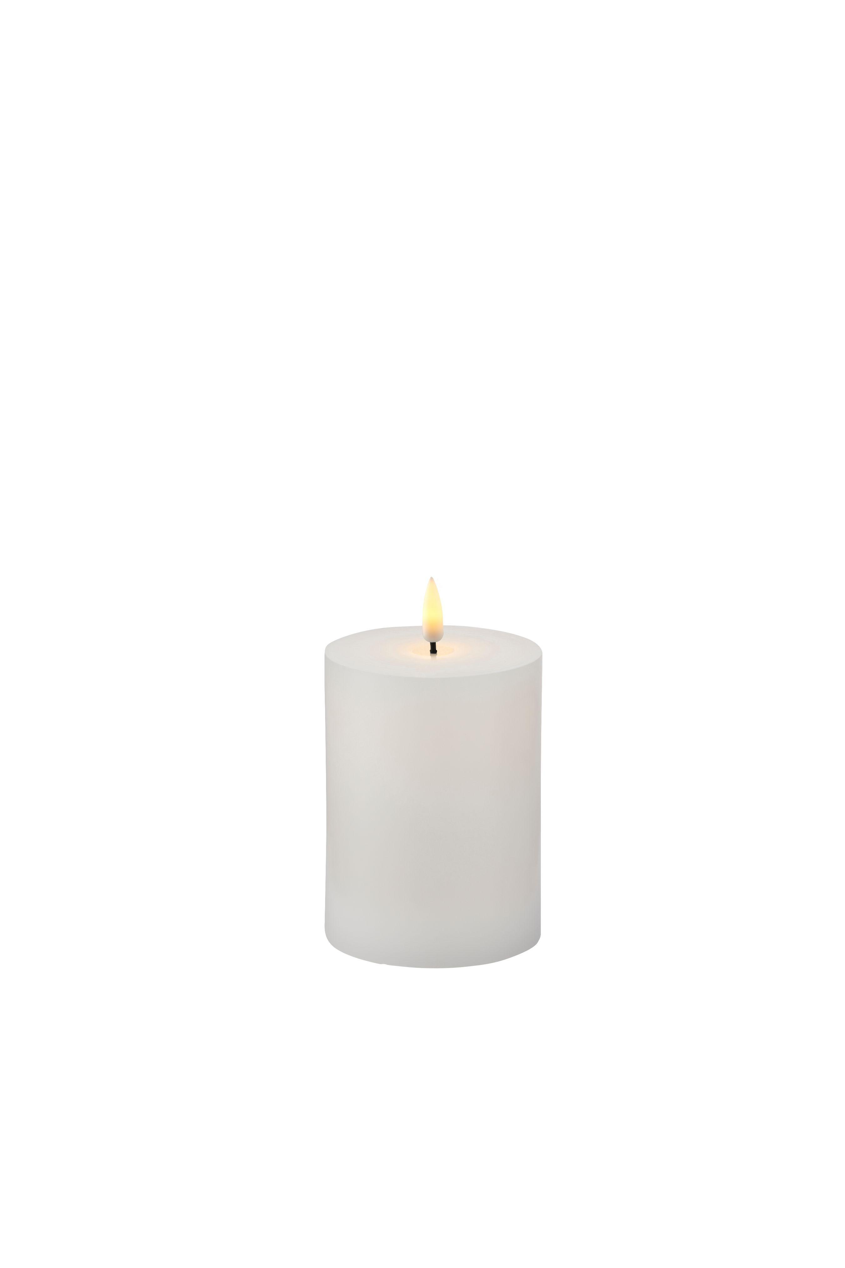 Sirius Sille genopladelig lys, 7,5x10 cm, hvid