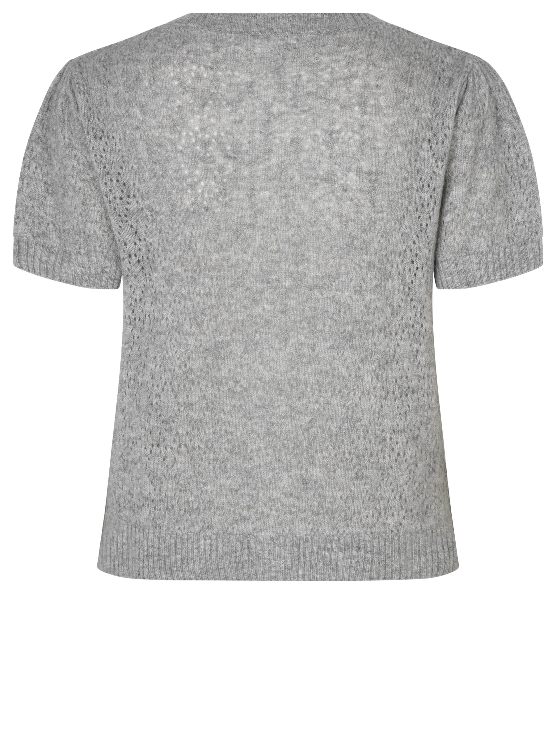 Rosmunde 6944 cardigan, Grey, Medium