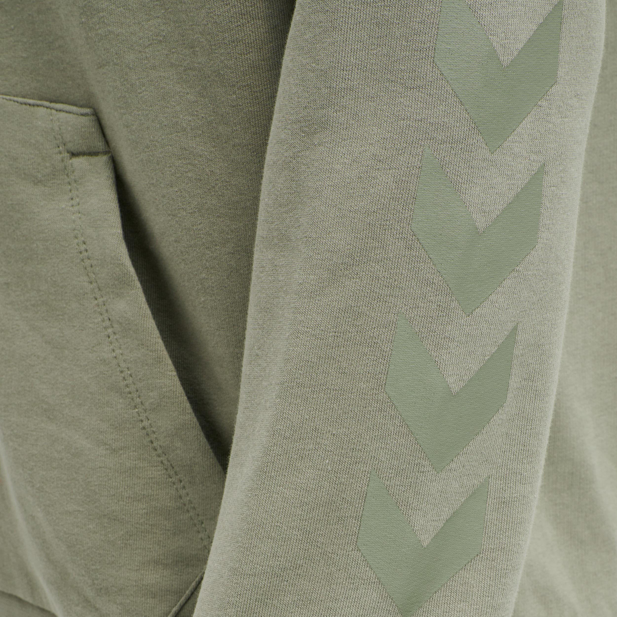 Hummel Hmlisam hoodie, vetiver, medium