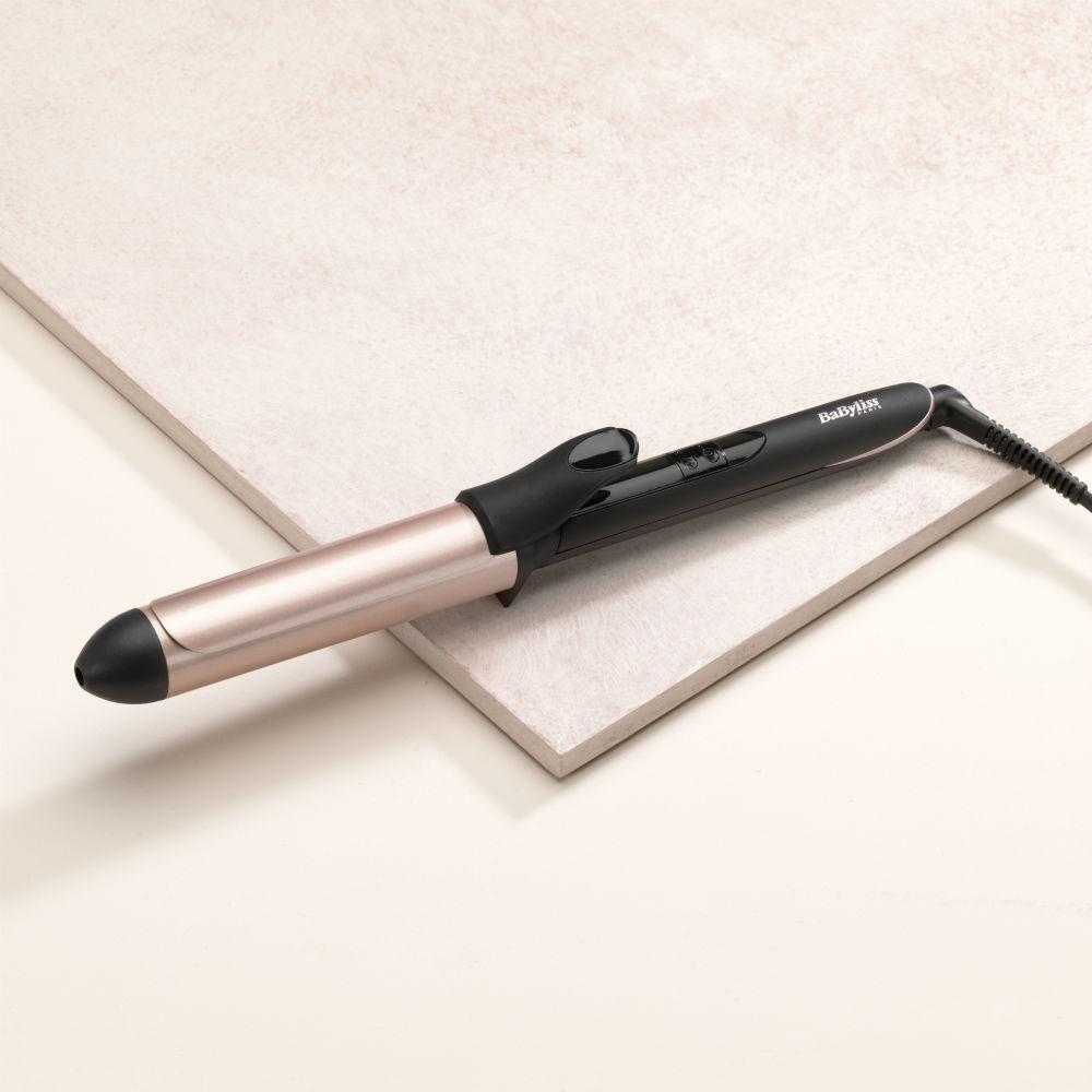 BaByliss C452E Rose Quartz klemkrøllejern, 32 mm