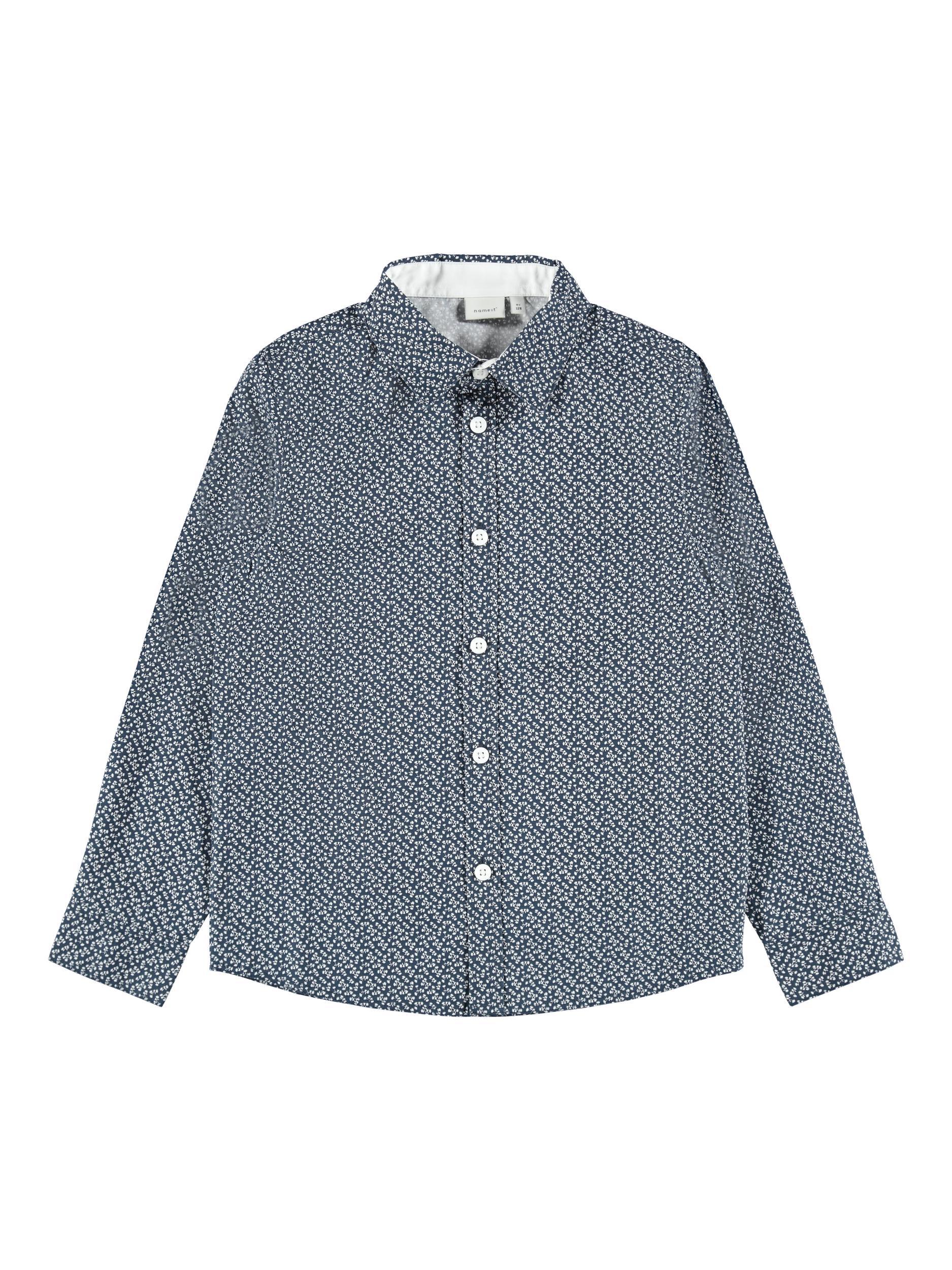 Name It Raki skjorte, Dark Sapphire, 122-128