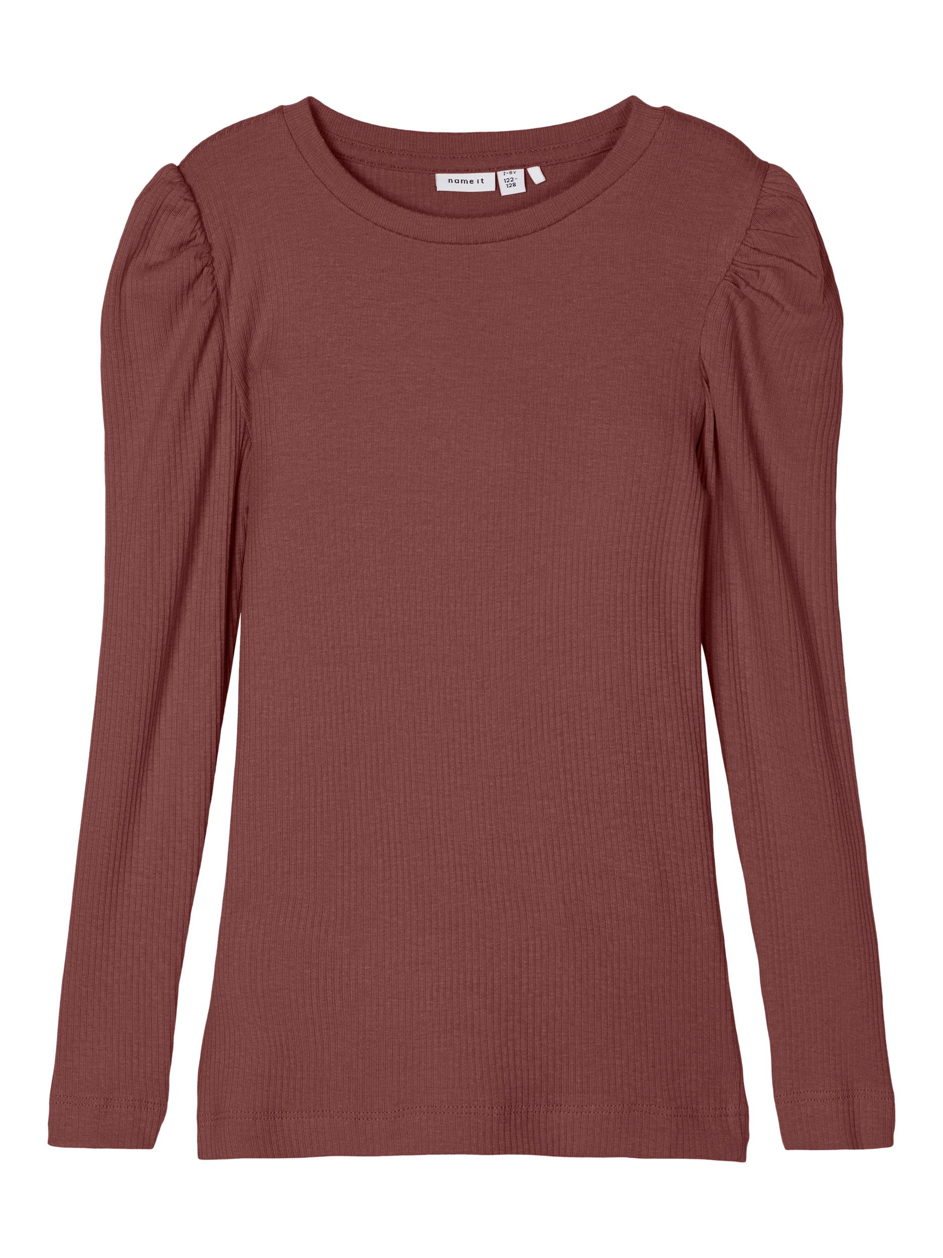 Name It Kabexi LS bluse, spiced apple, 116