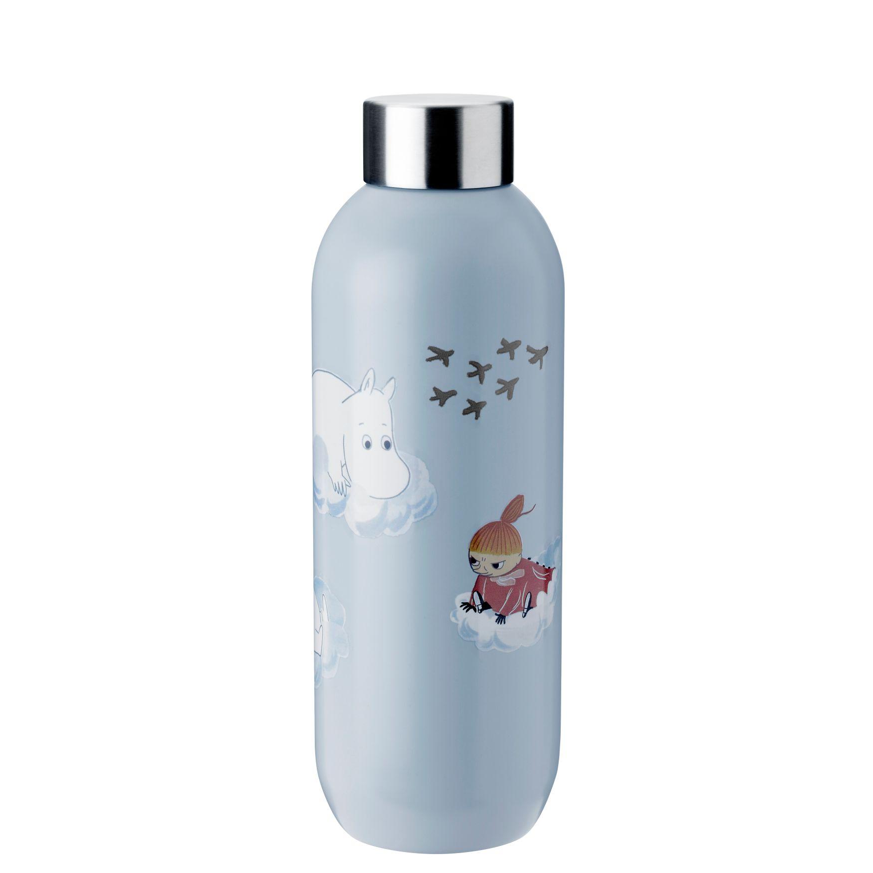 Stelton Keep Cool Mumi drikkeflaske, 750 ml, cloud