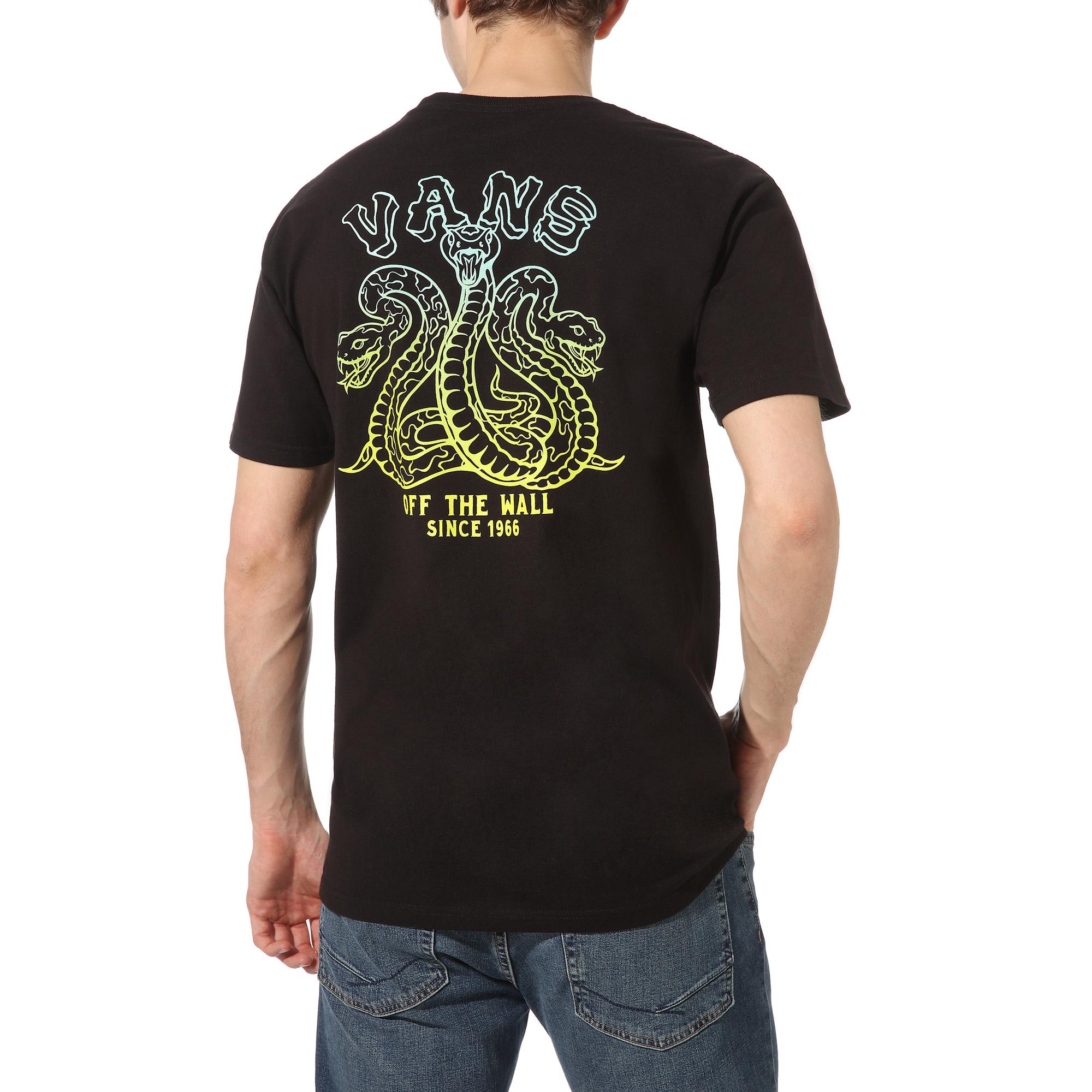 Vans Tres Culebras t-shirt, black, x-small