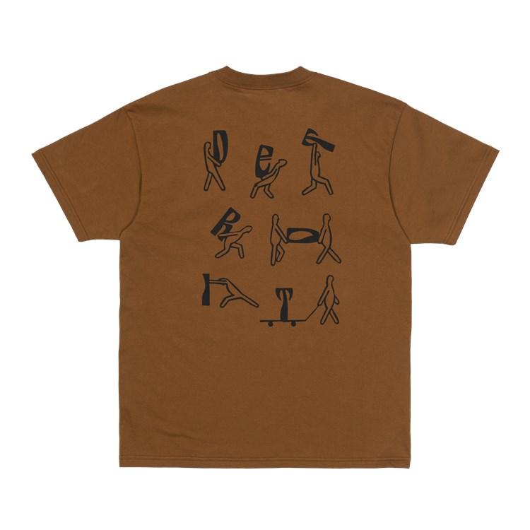 Carhartt S/S Removals T-shirt, Tawny, M