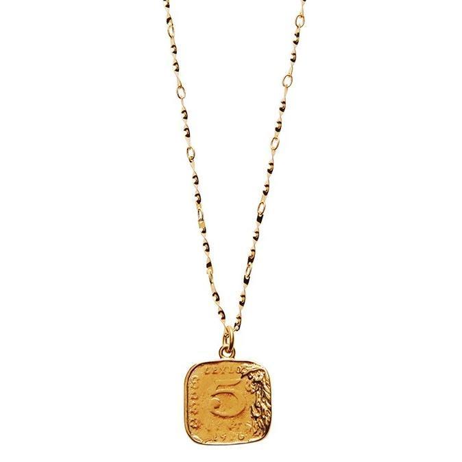 Pico Penny halskæde, guld