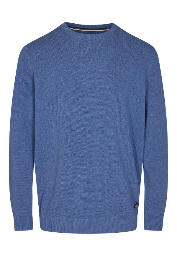 Signal Norson Crew trøje, true blue melange, xxx-large