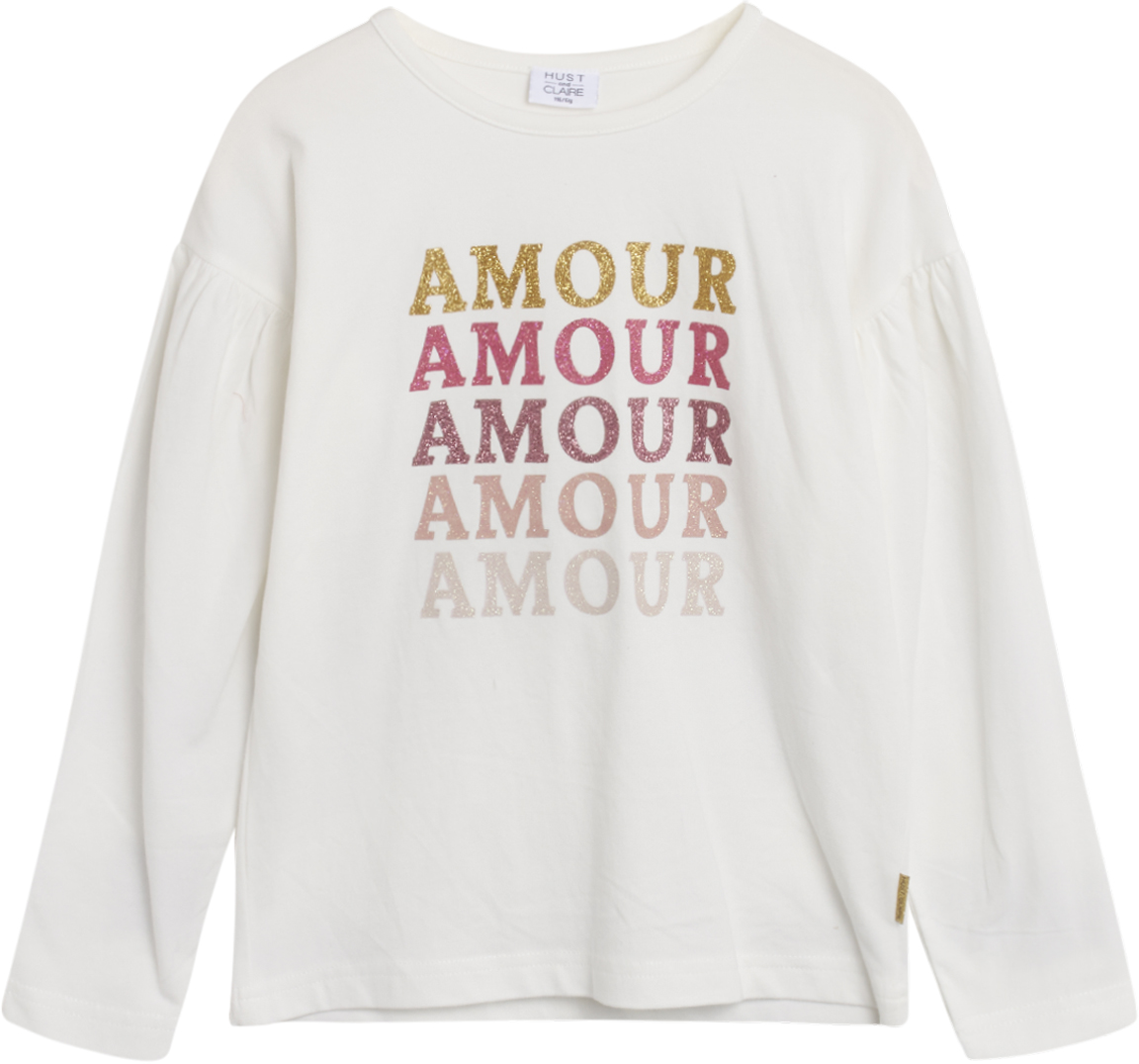 Hust & Claire Aio t-shirt, ivory, 116