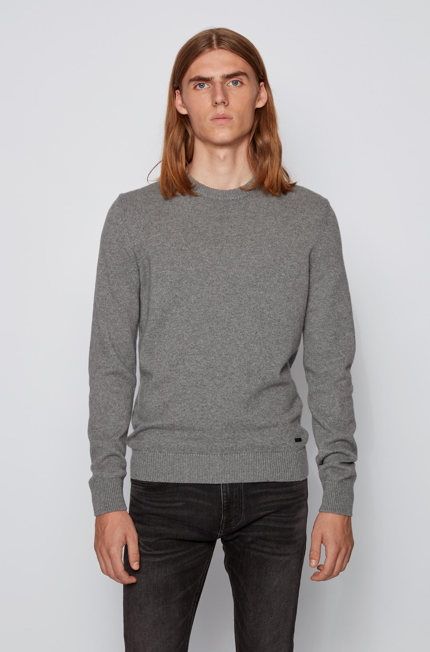 Hugo Boss Kontreal strik, medium grey, xx-large