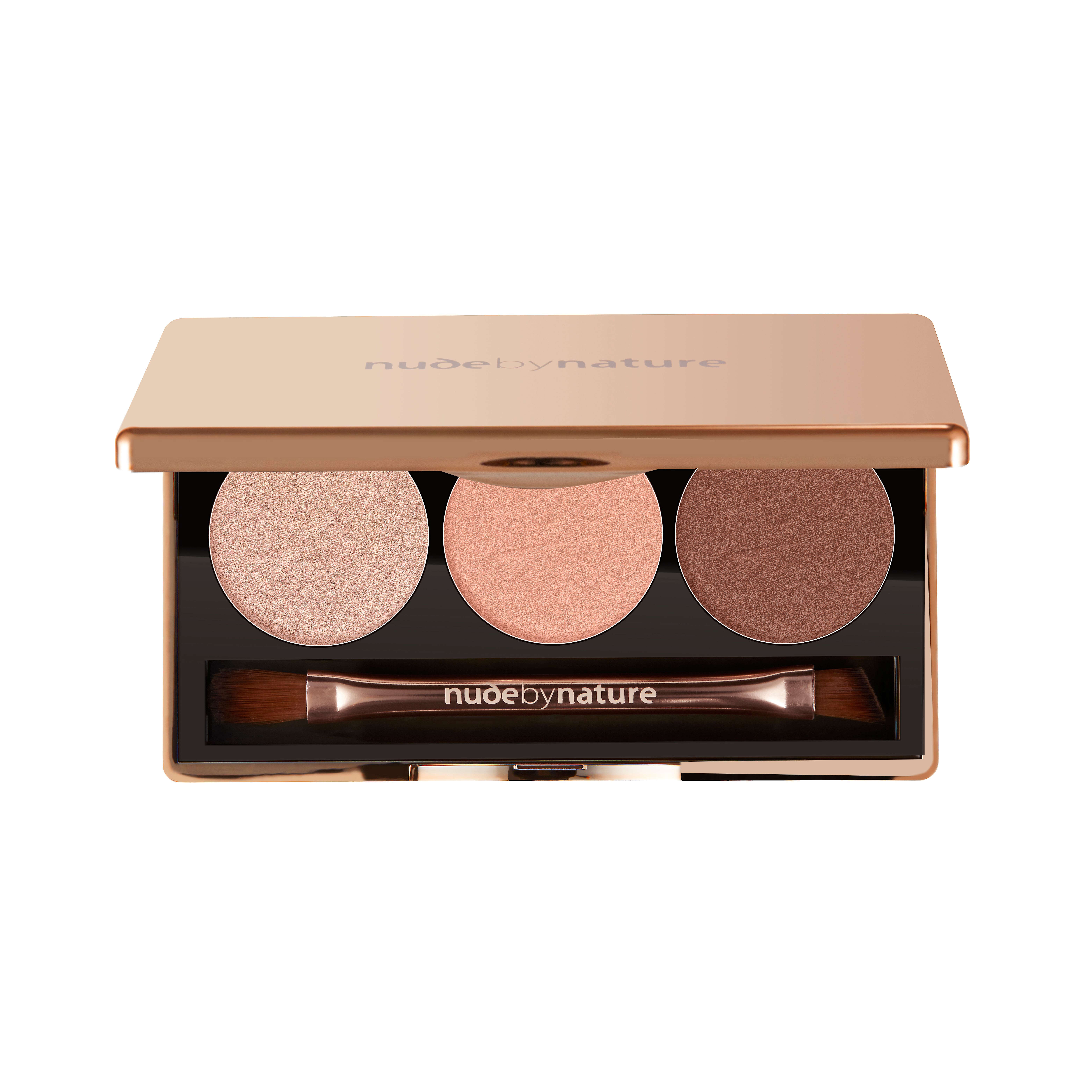 Nude by Nature Illusion Eyeshadow Trio, rose