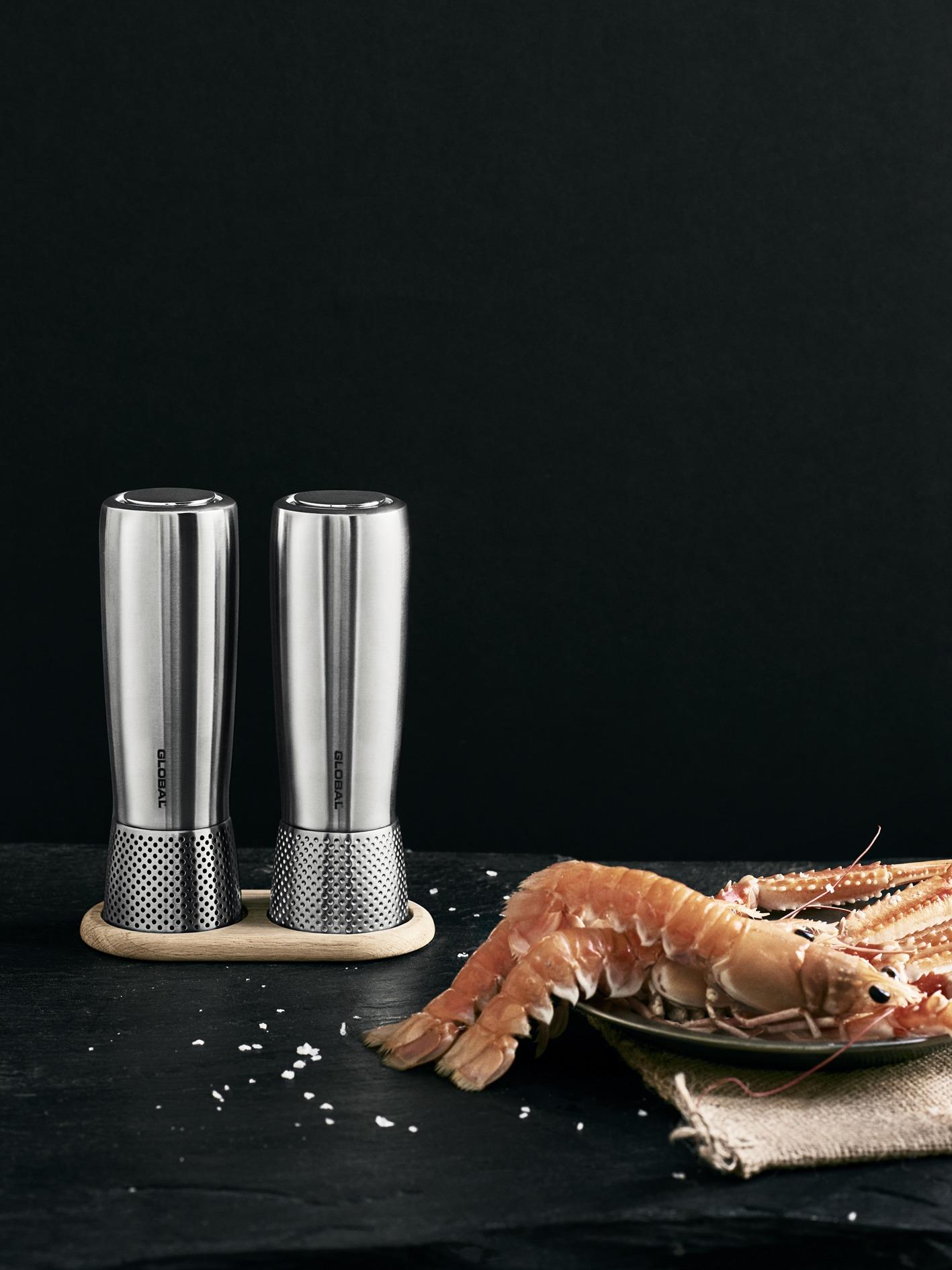 Global salt- og peberf fod, eg