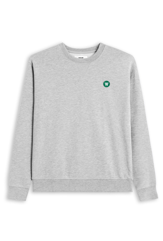 Wood Wood Tye sweatshirt, grey melange, x-small