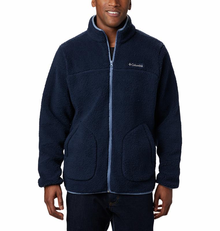 Columbia Rugged Rudge II Sherpa Fleece Jakke, Collegiate Navy, M