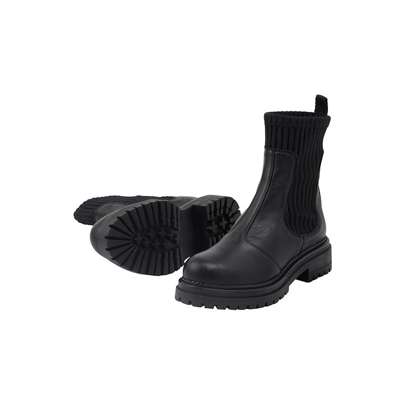 Cashott 24202 støvle, delfi black, 40