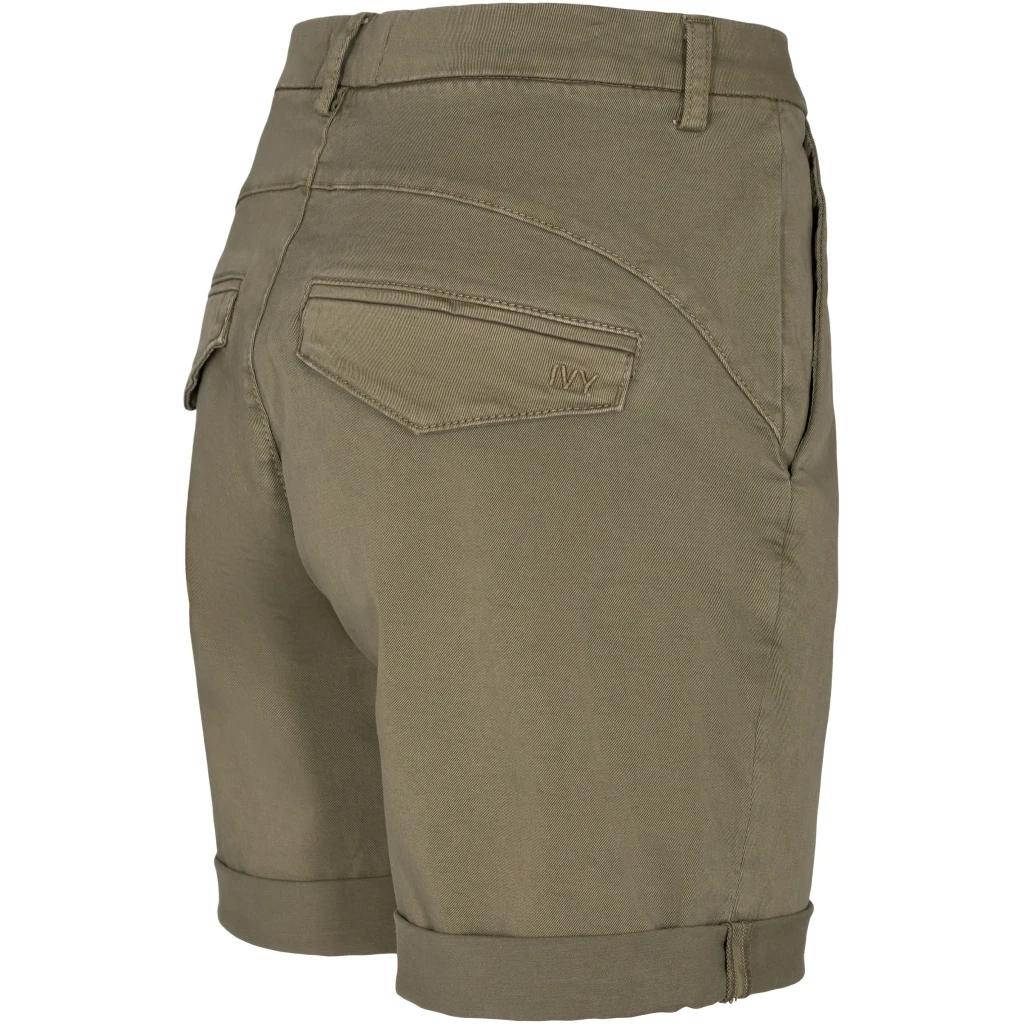 Ivy Copenhagen Karmey chino shorts, dusty army, 26