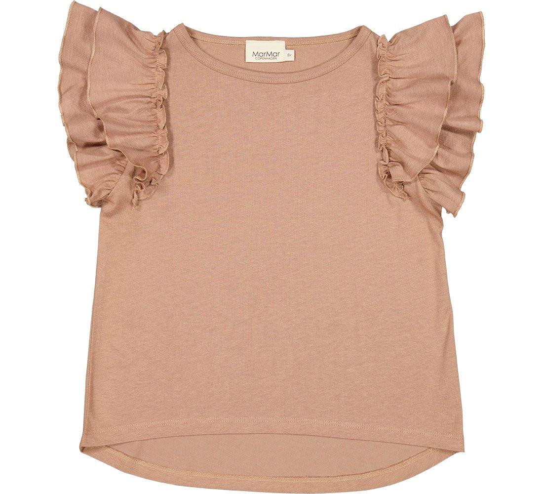 MarMar Tavora Frill t-shirt, almond, 104