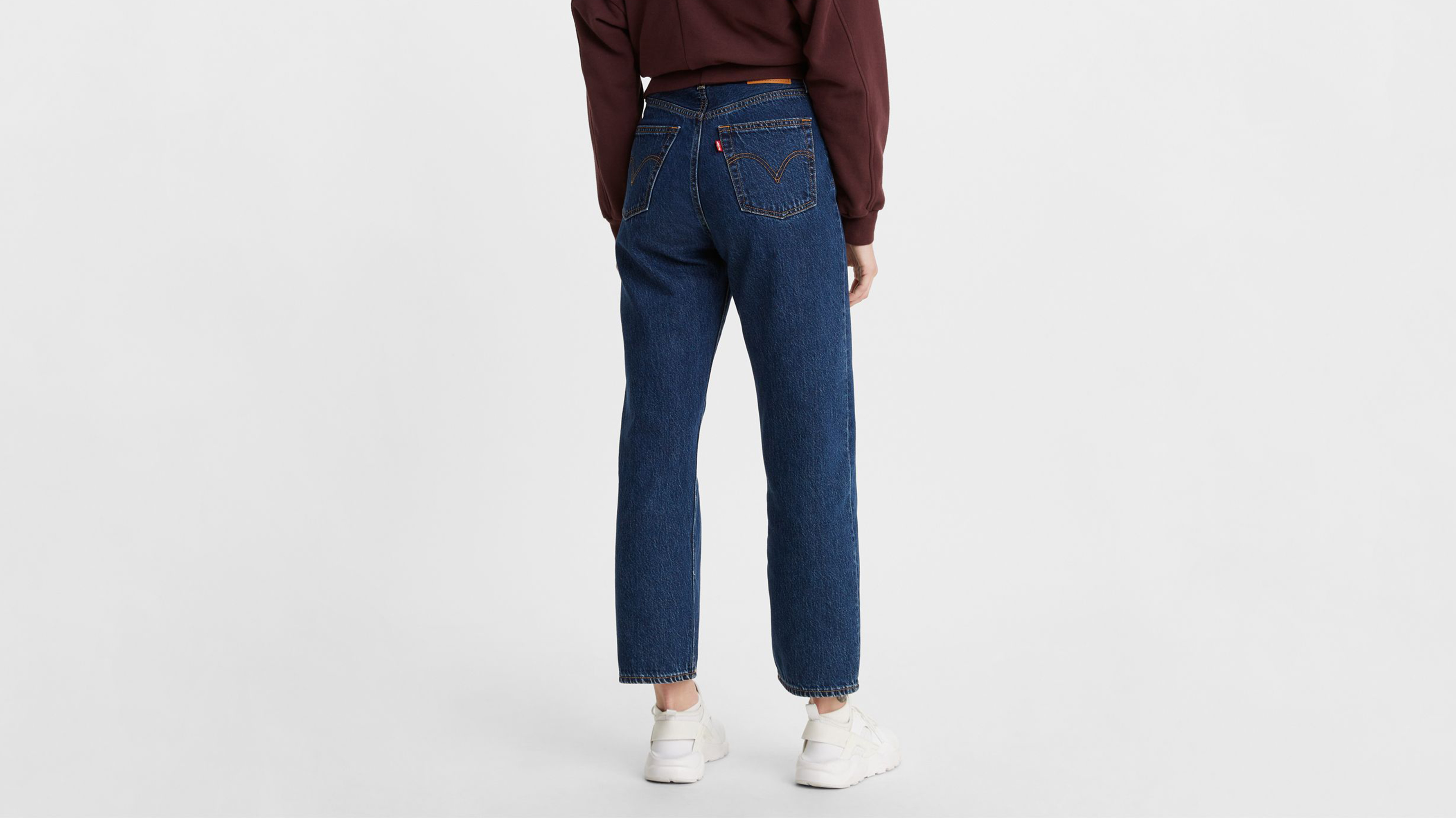Levi's Ribcage Straight Ankle jeans, noe dark mineral, 28/27