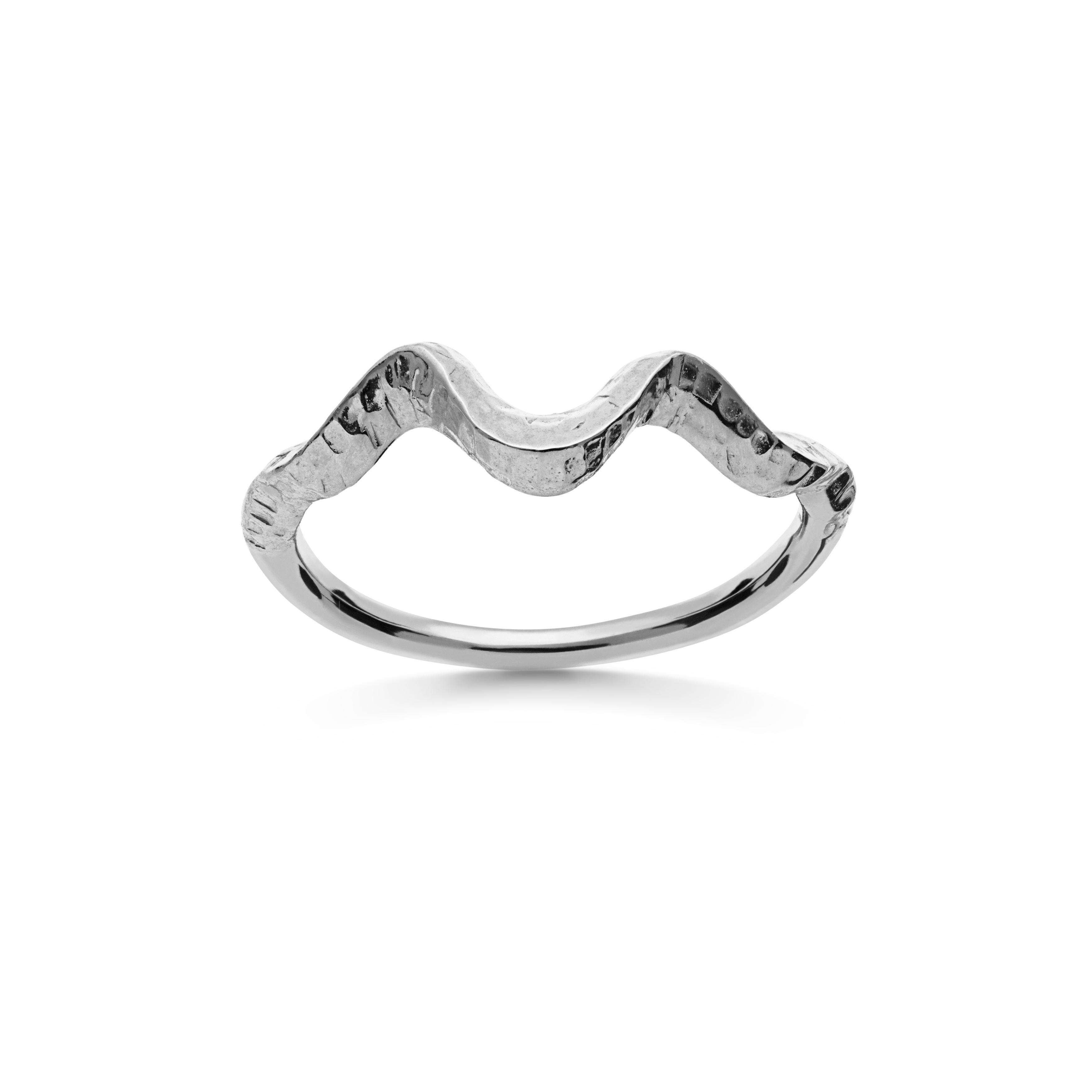 Maanesten Arvia ring, sølv, 51