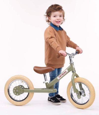 Trybike balancecykel m. 2 hjul, grøn
