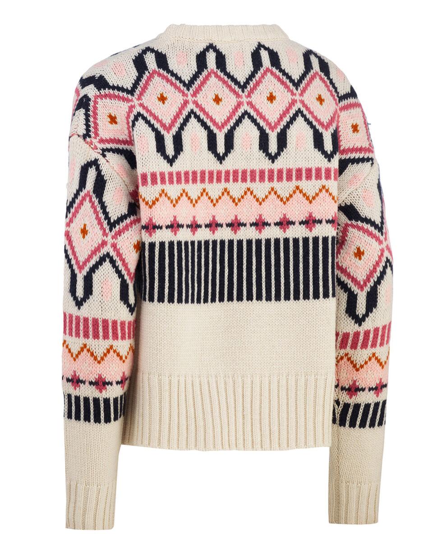 Kari Traa Mølster knit, white, x-large