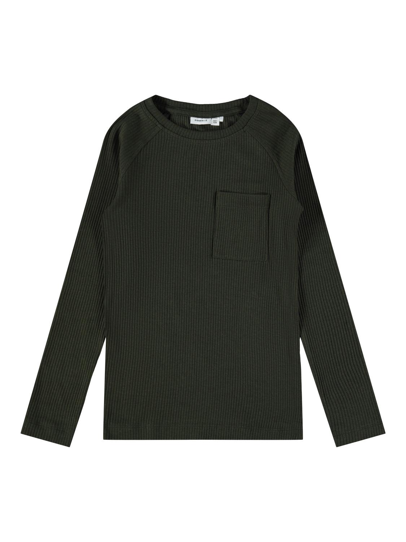 Name It Billeon langærmet t-shirt, rosin, 122-128