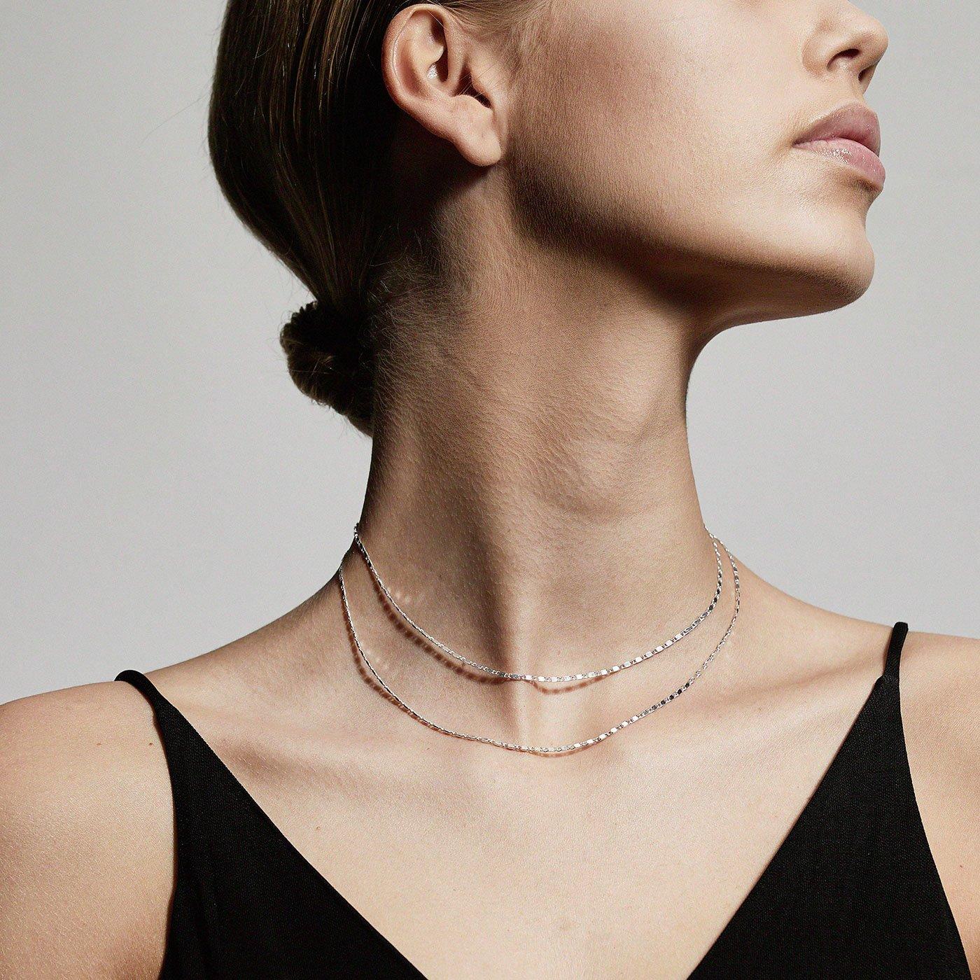 Pilgrim Parisa halskæde, sølv