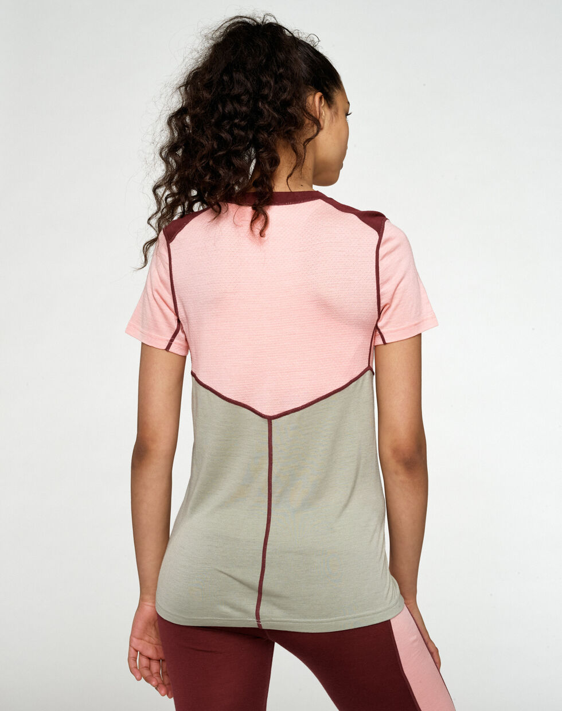 Kari Traa Lam merino-uld t-shirt, silk, x-large