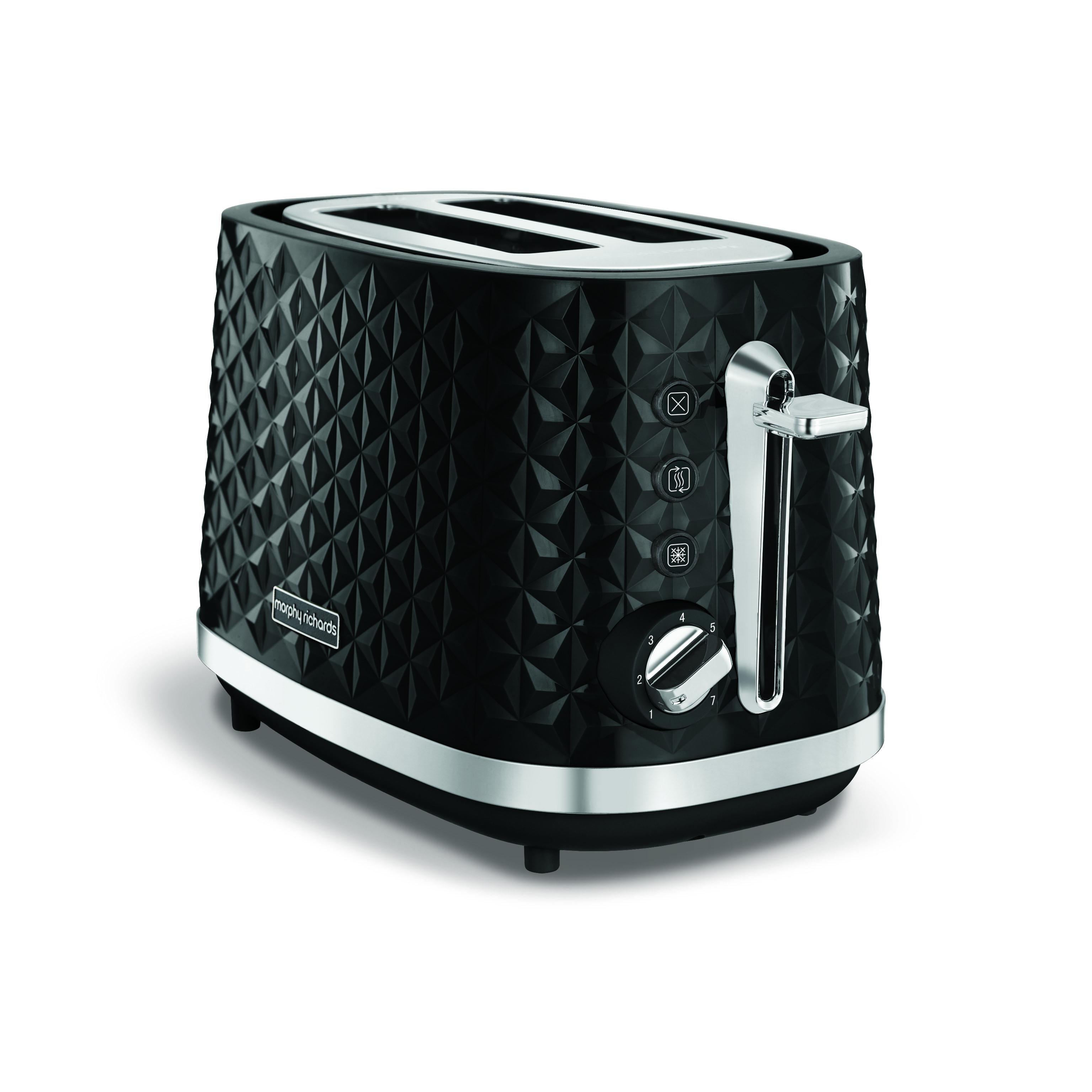 Morphy Richards Vector toaster 2-skiver, sort