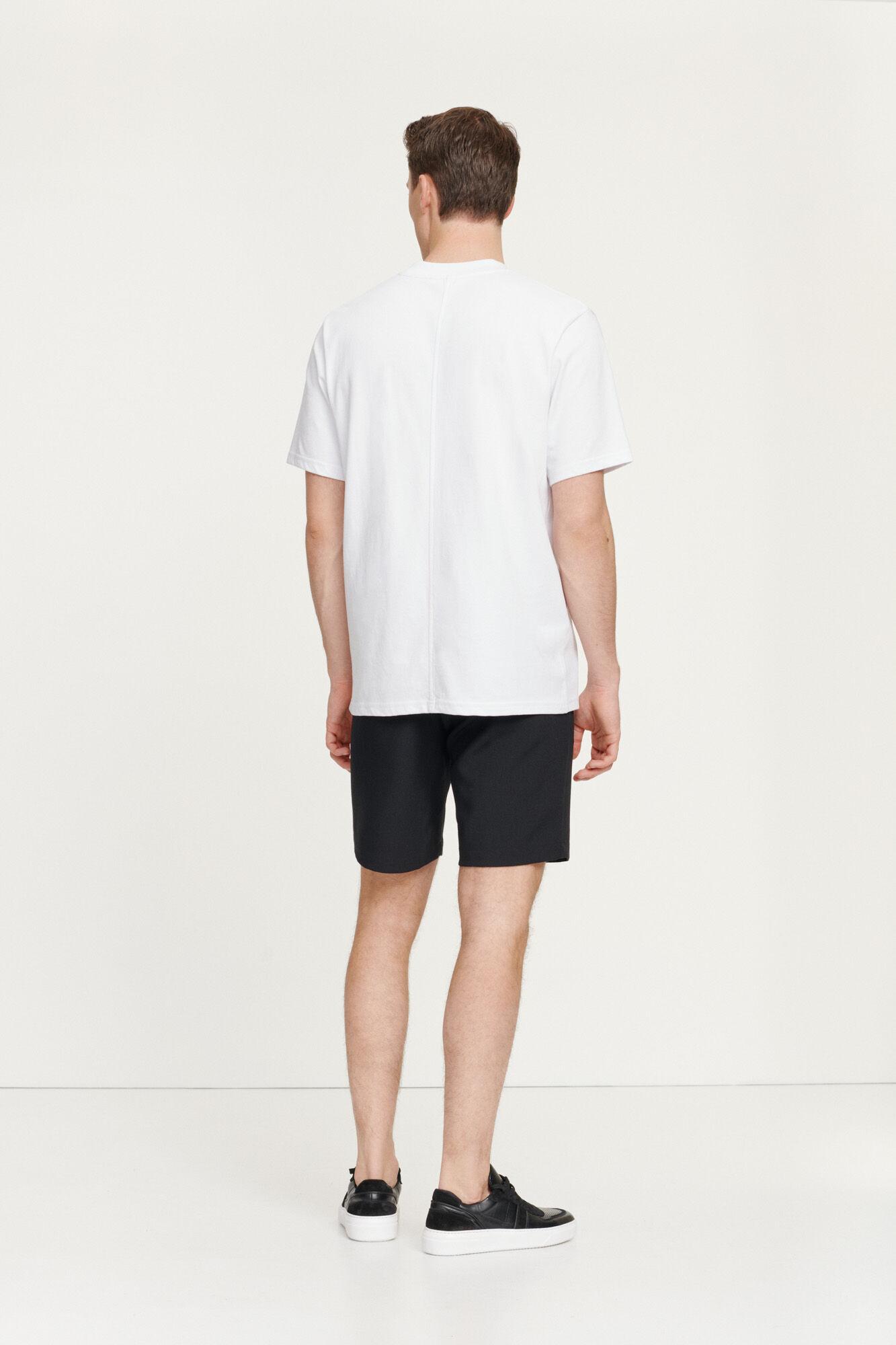Samsøe & Samsøe Norsbro S/S t-shirt, white, x-large