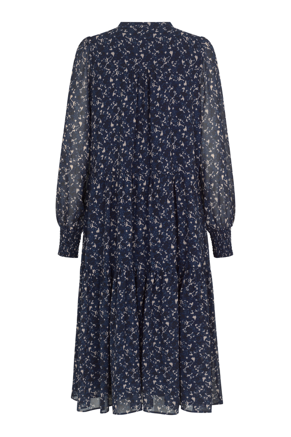 Second Female Norrie kjole, maritime blue, x-large