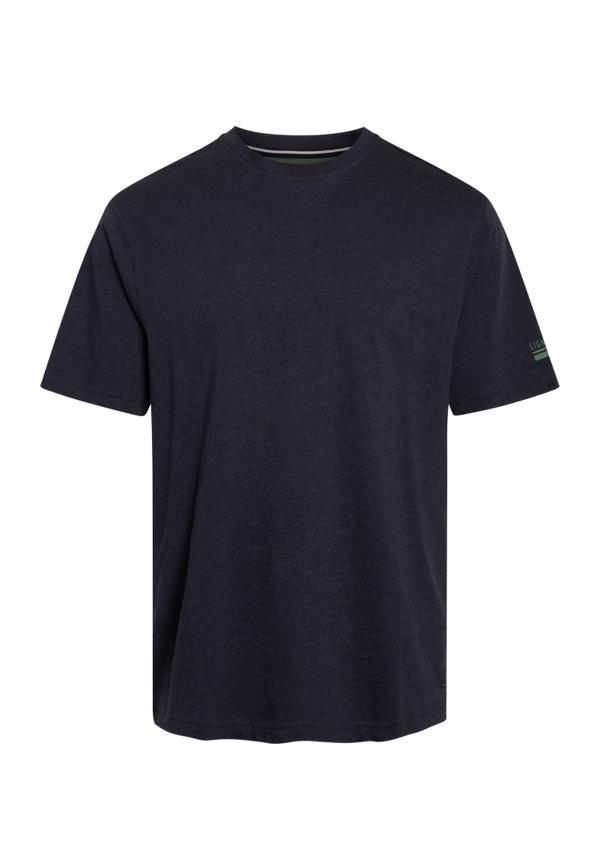 Signal Eddy Organic t-shirt, marine blue melange, medium