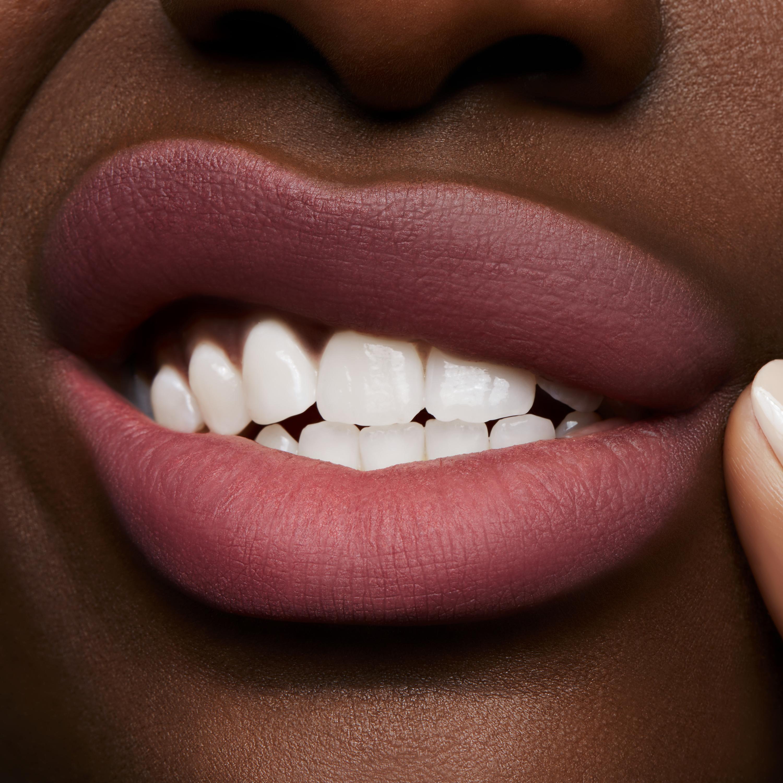 MAC Powder Kiss Liquid Lip, a little tamed