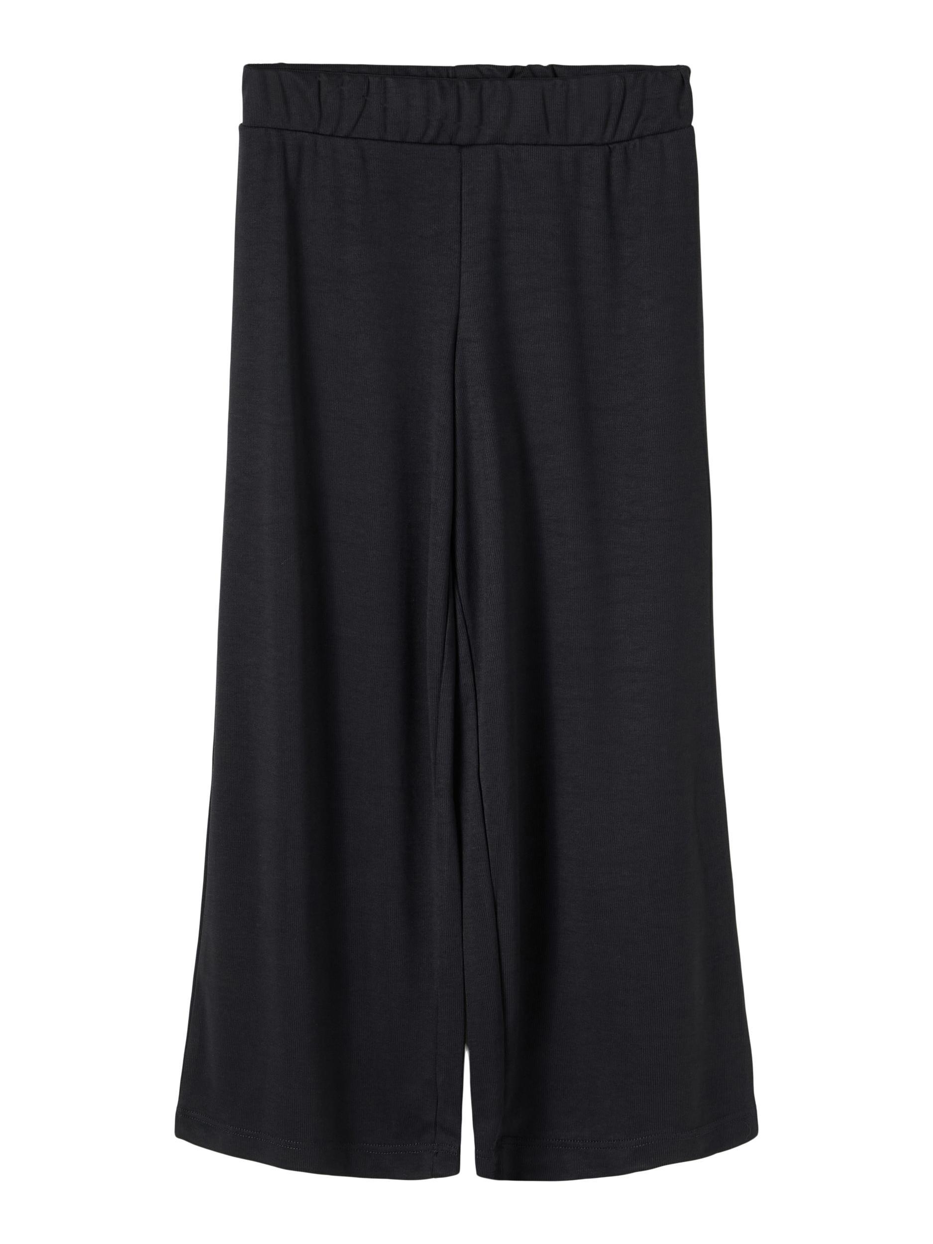 Name It Bansia wide pants, black, 116