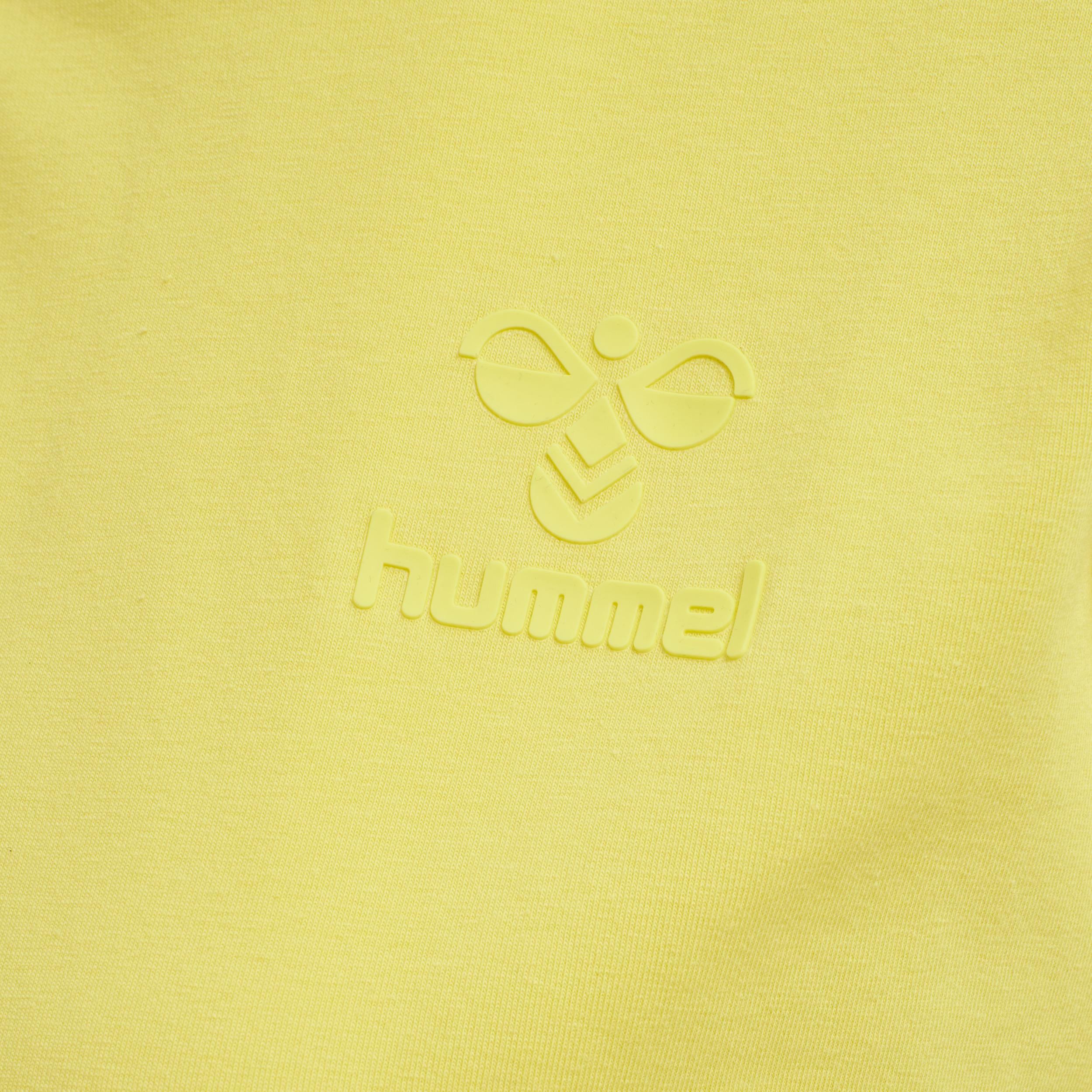 Hummel Isobella S/S t-shirt, celandine, large