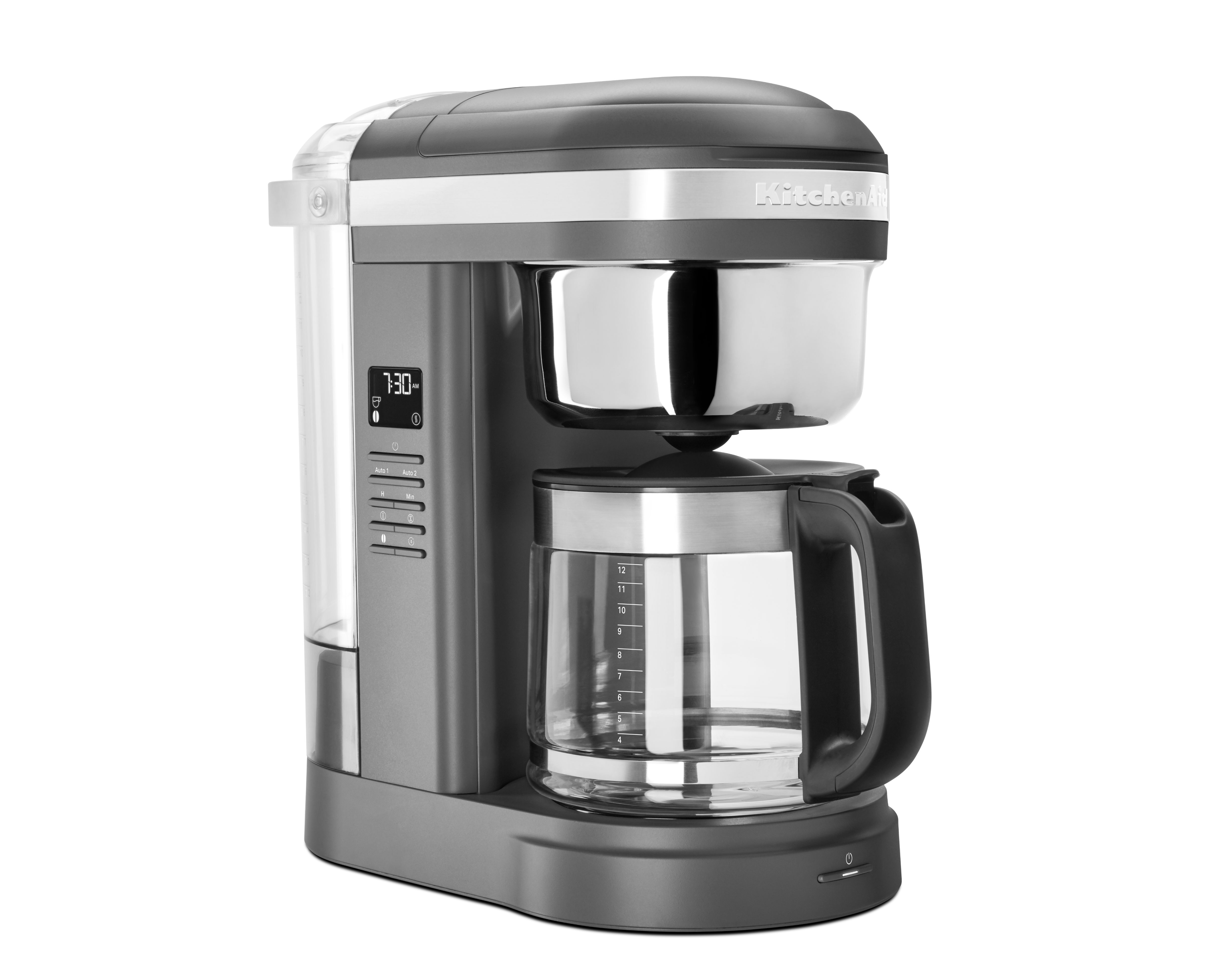 KichenAid Drip kaffemaskine, matt grey