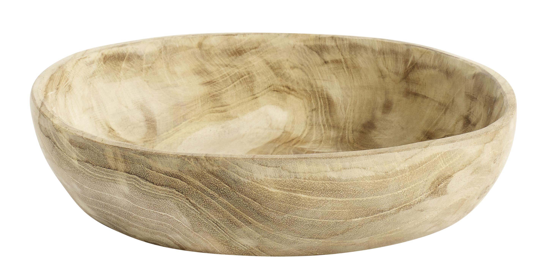 Muubs Aiko skål, Ø19 cm, teaktræ